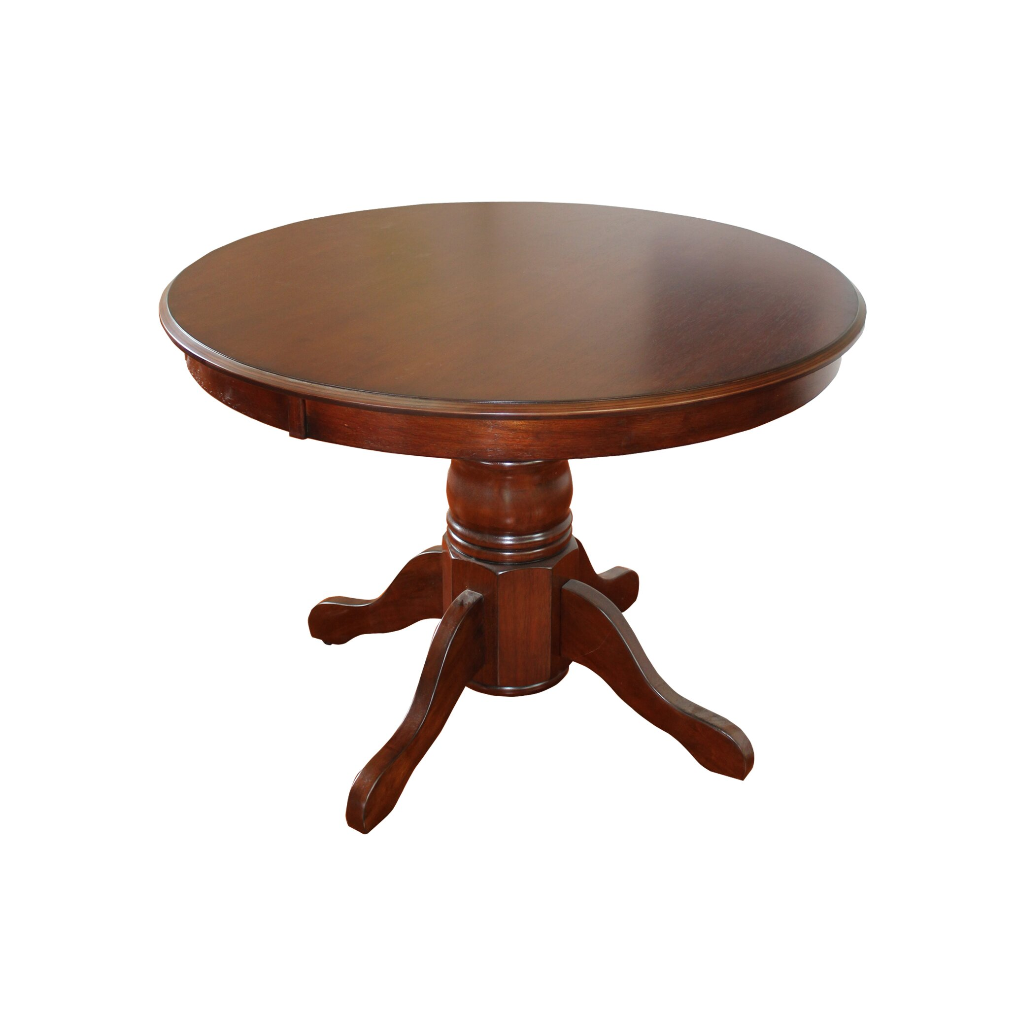 Home styles pedestal dining table wayfair for Dining table styles