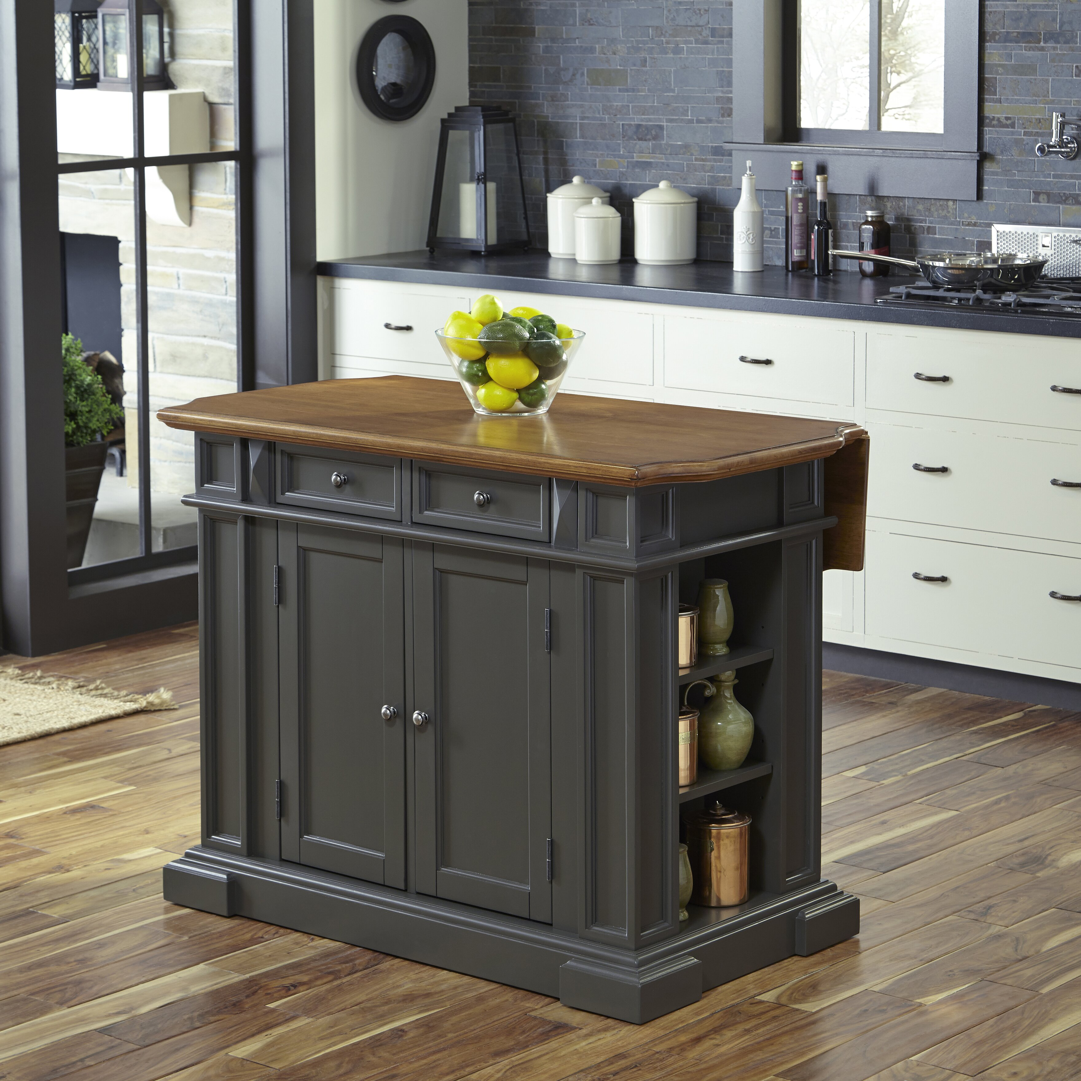 home styles americana kitchen island wayfair home styles americana kitchen island wayfair