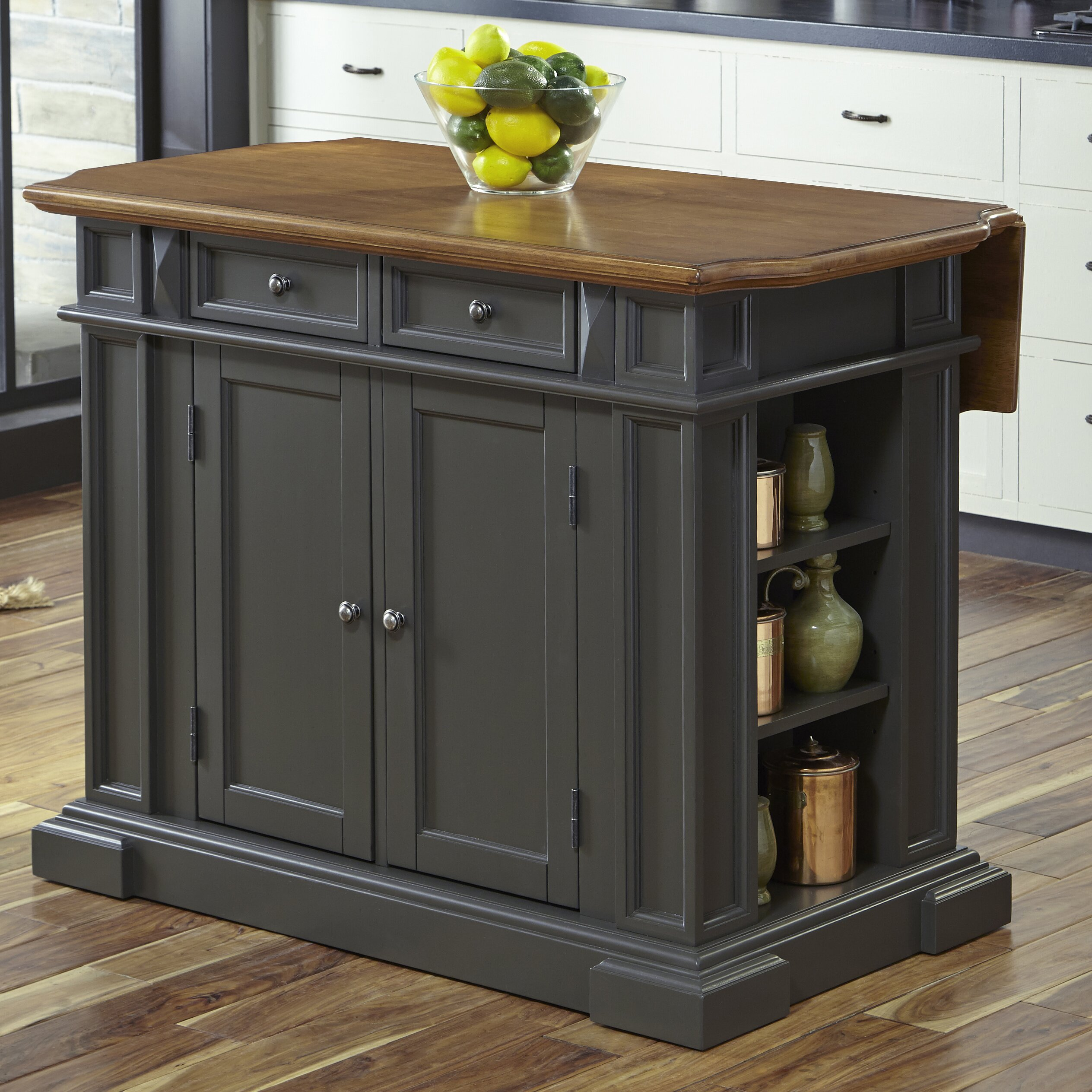 Home Styles Americana Kitchen Island Wayfair