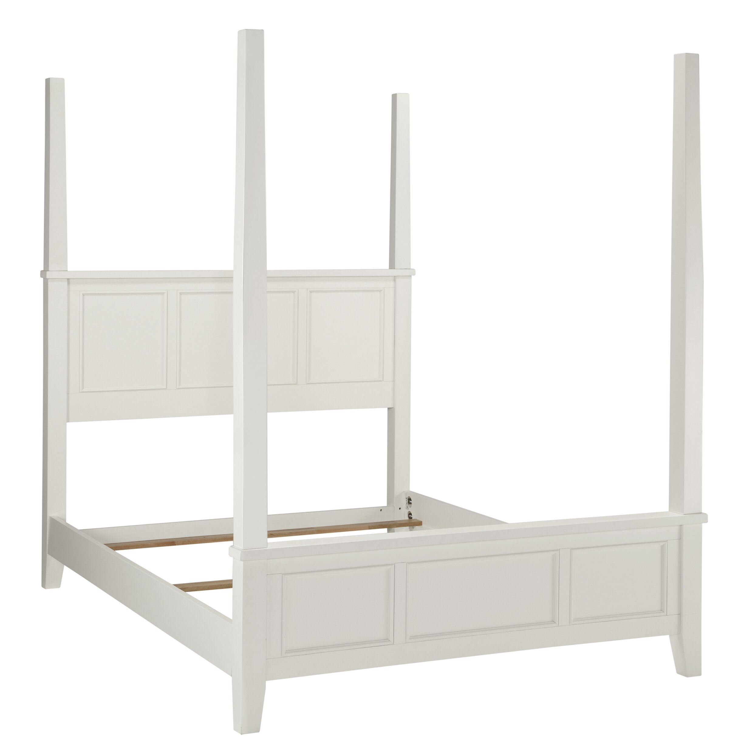 Home Styles Naples Four Poster 2 Piece Bedroom Set Wayfair