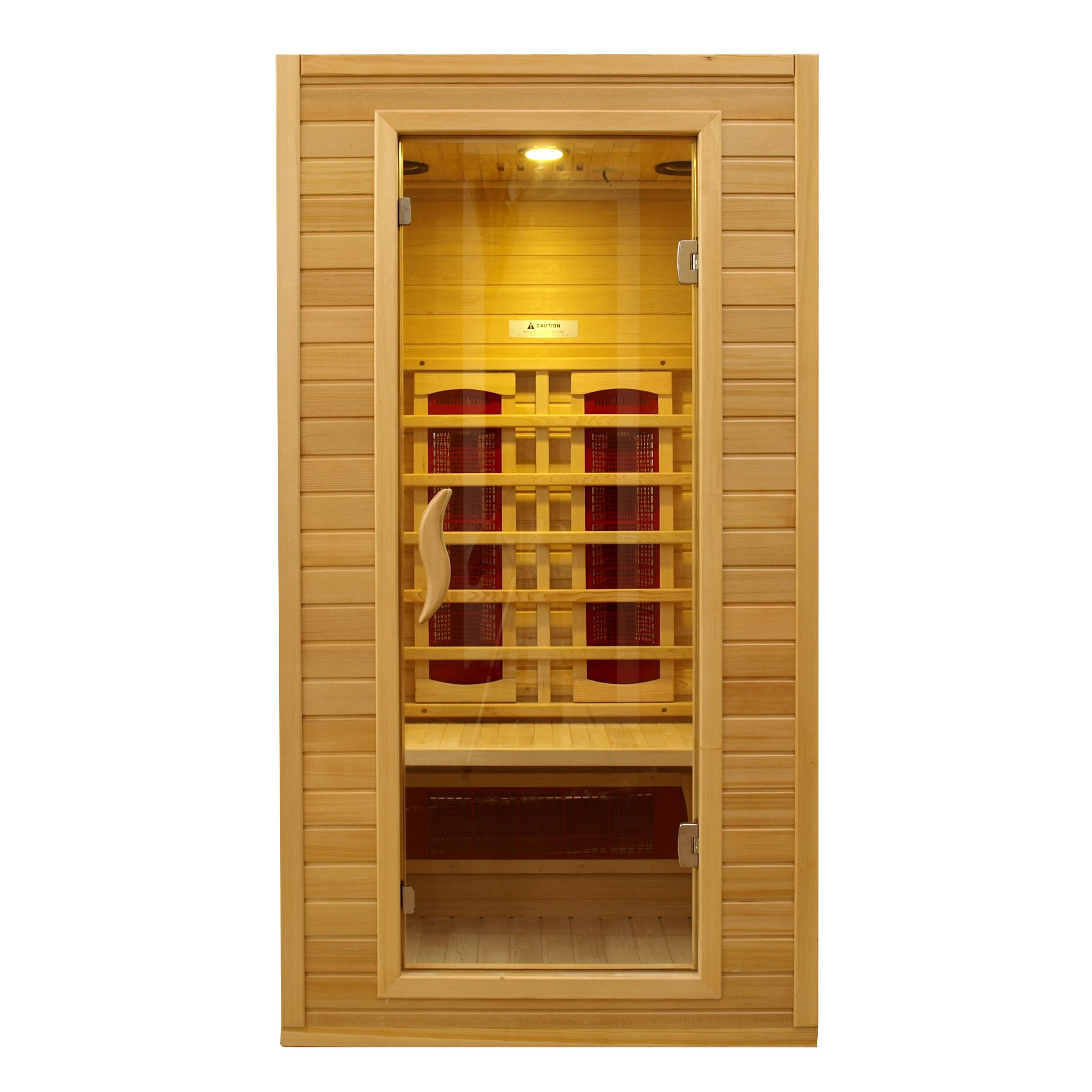 dynamic infrared 2 person ceramic far infrared sauna
