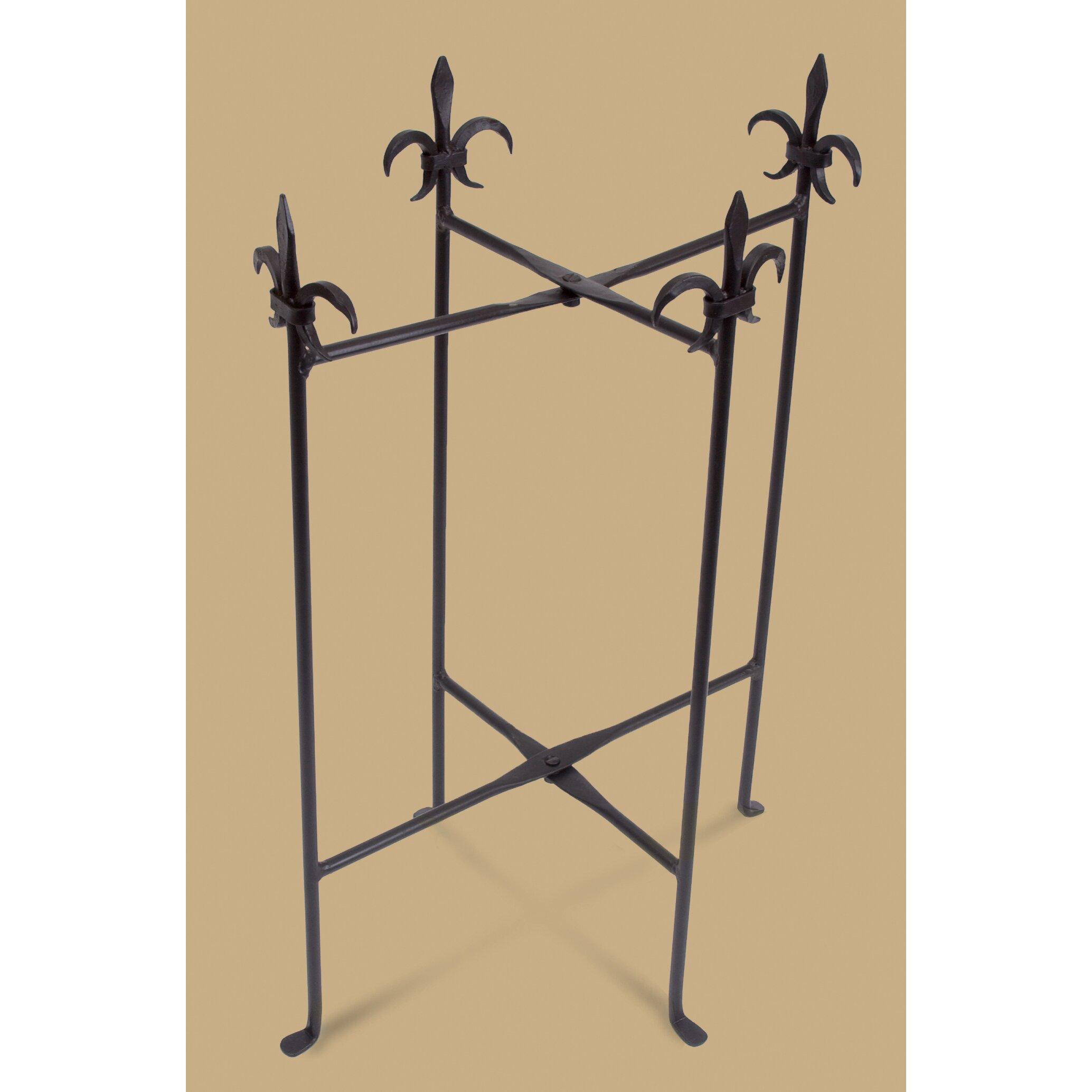 kindwer fleur de lis stand for tubs wayfair. Black Bedroom Furniture Sets. Home Design Ideas