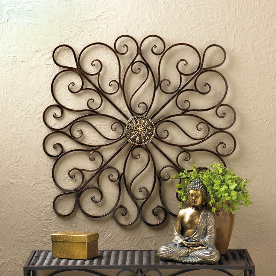 zingz thingz scrollwork iron wall d cor reviews wayfair