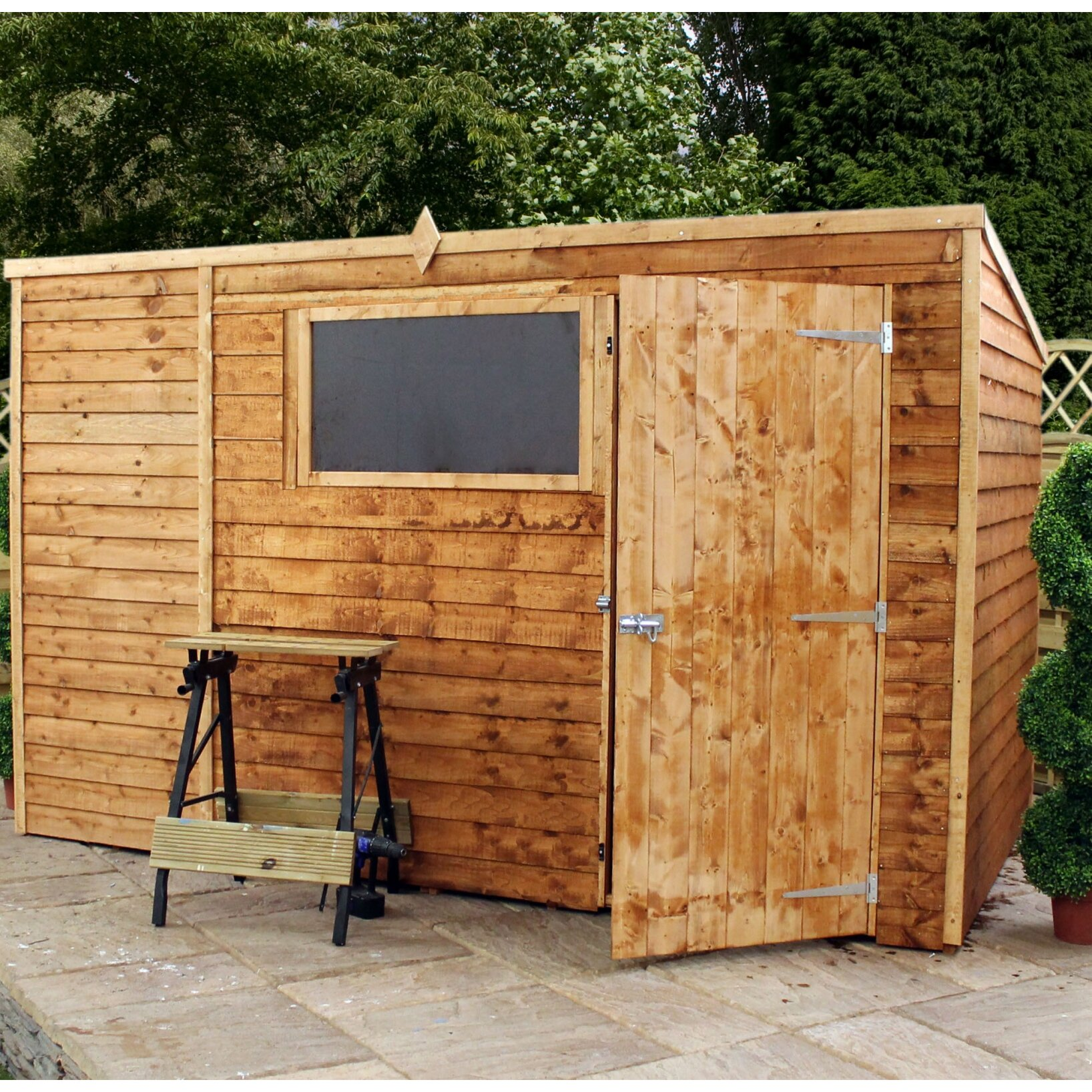 Mercia Garden Products 10 X 6 Pent Shed