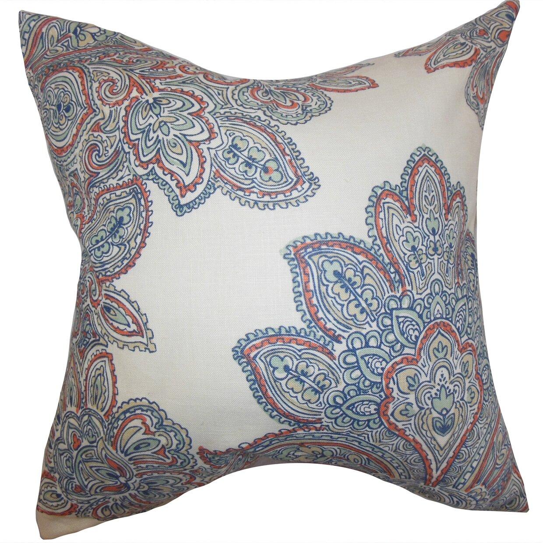 The Pillow Collection Haldis Floral Throw Pillow Cover Wayfair