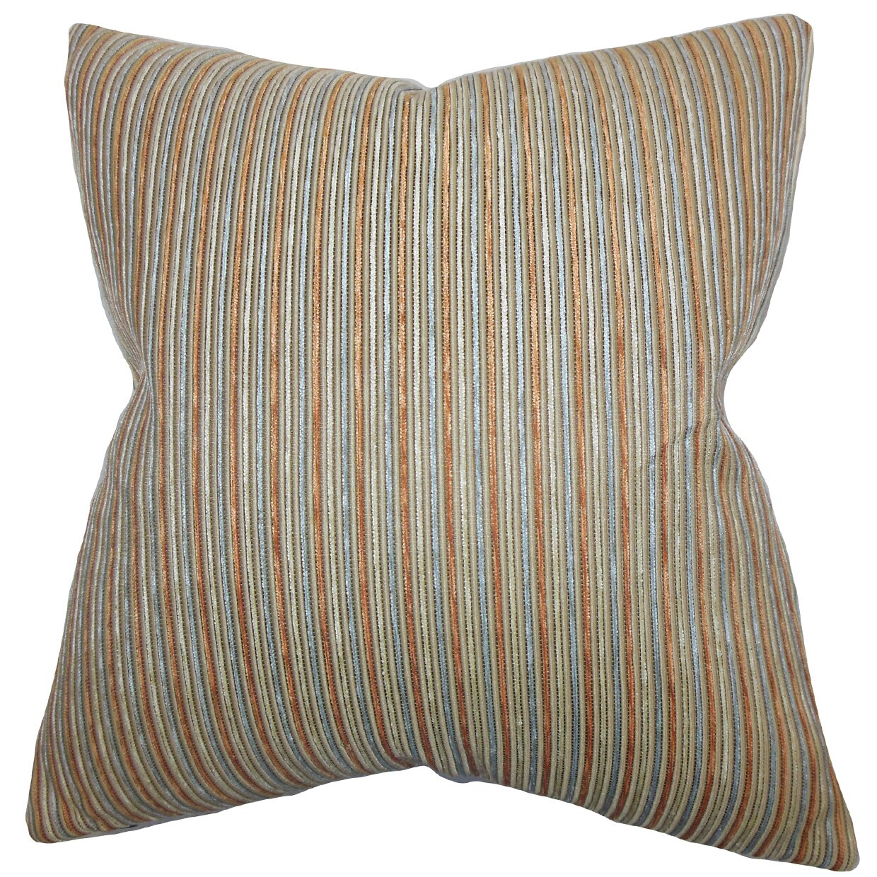 Decorative Pillows With Stripes : The Pillow Collection Elke Stripes Throw Pillow Wayfair
