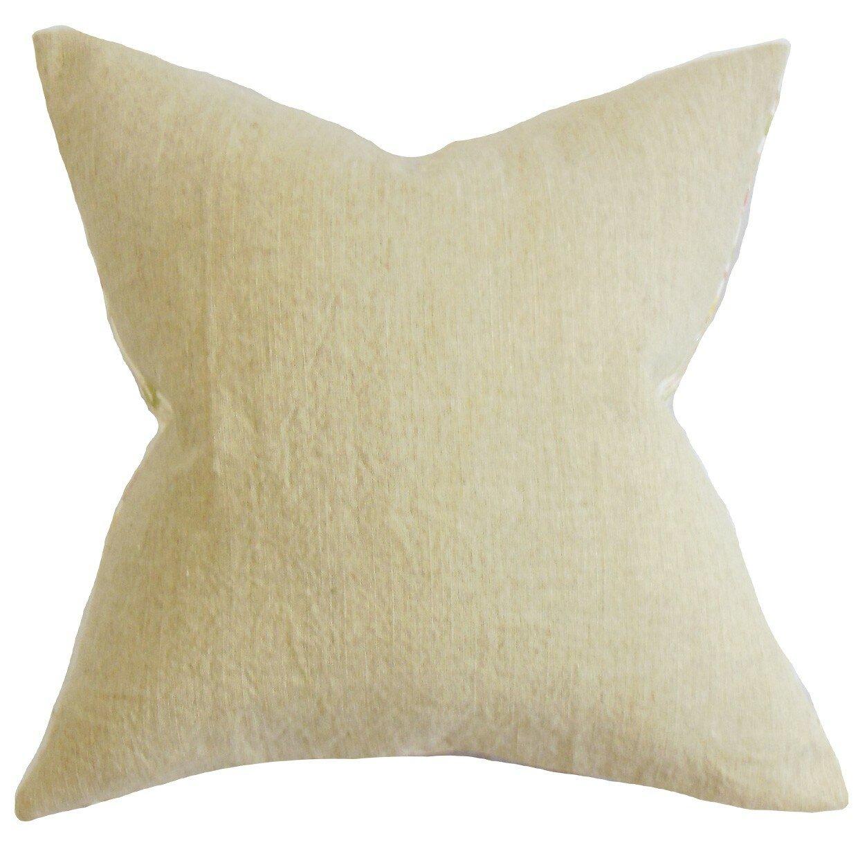 Throw Pillow Collections : The Pillow Collection Yaretzi Solid Throw Pillow & Reviews Wayfair
