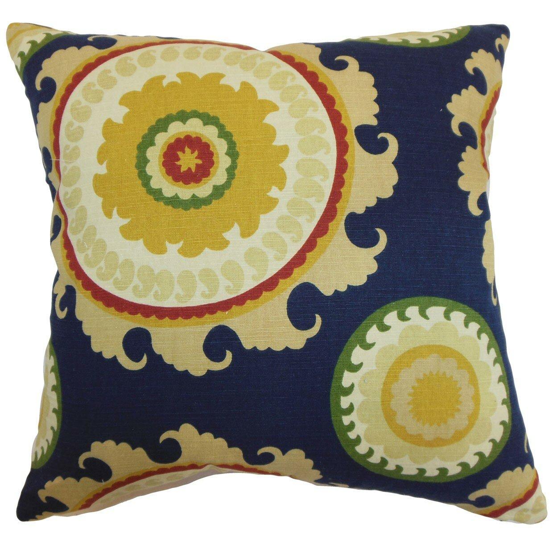 The Pillow Collection Obyan Geometric Throw Pillow & Reviews Wayfair