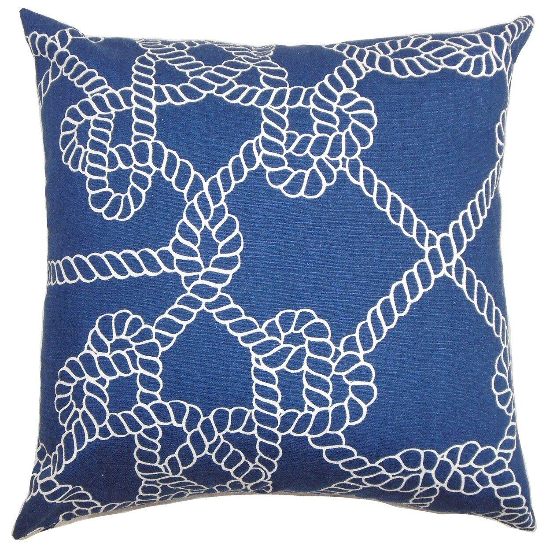 Coastal Decorative Pillow Covers : The Pillow Collection Accalia Coastal Cotton Throw Pillow Cover Wayfair.ca