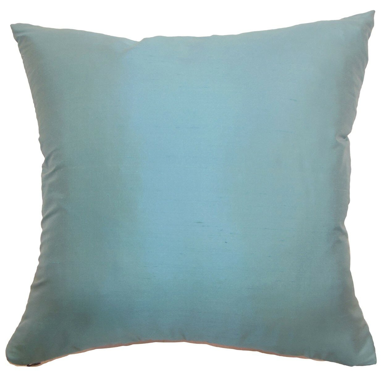 Throw Pillows Pictures : The Pillow Collection Agnieska Plain Silk Throw Pillow & Reviews Wayfair