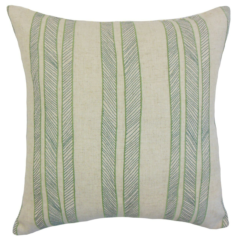 The Pillow Collection Drum Stripes Throw Pillow & Reviews Wayfair