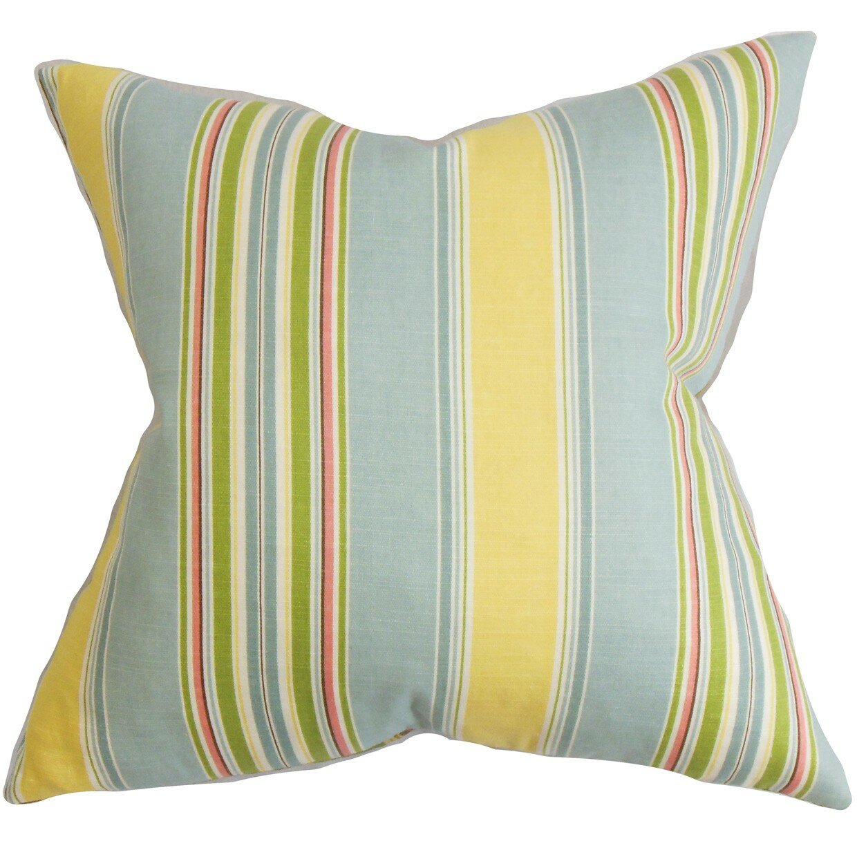 The Pillow Collection Hollis Stripes Throw Pillow & Reviews Wayfair