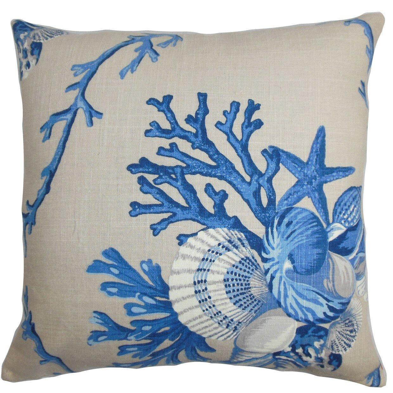 Coastal Color Throw Pillows : The Pillow Collection Maj Coastal Throw Pillow & Reviews Wayfair