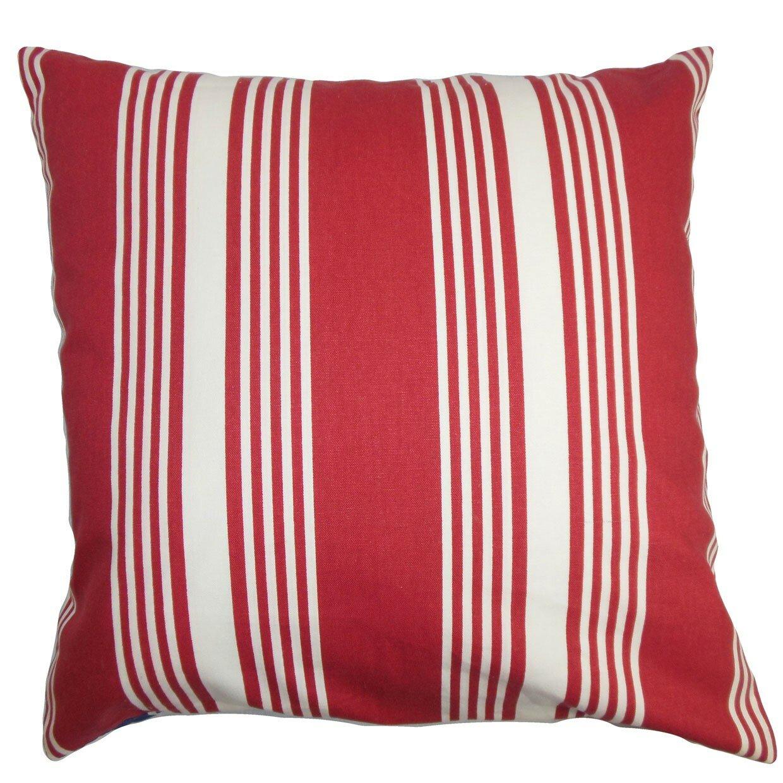 Throw Pillow Collections : The Pillow Collection Perri Stripes Cotton Throw Pillow & Reviews Wayfair