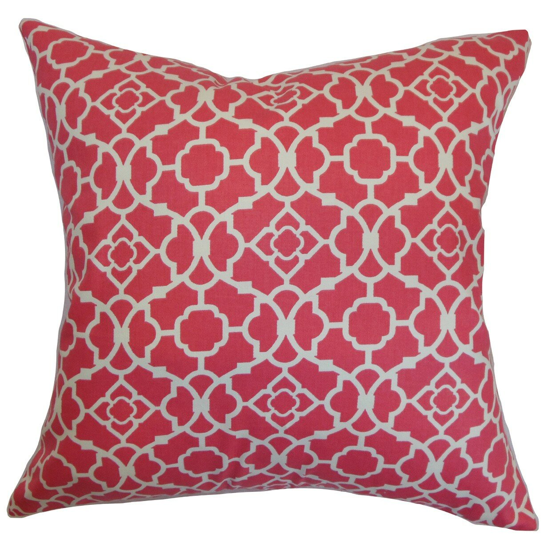 The Pillow Collection Kalmara Cotton Throw Pillow & Reviews Wayfair