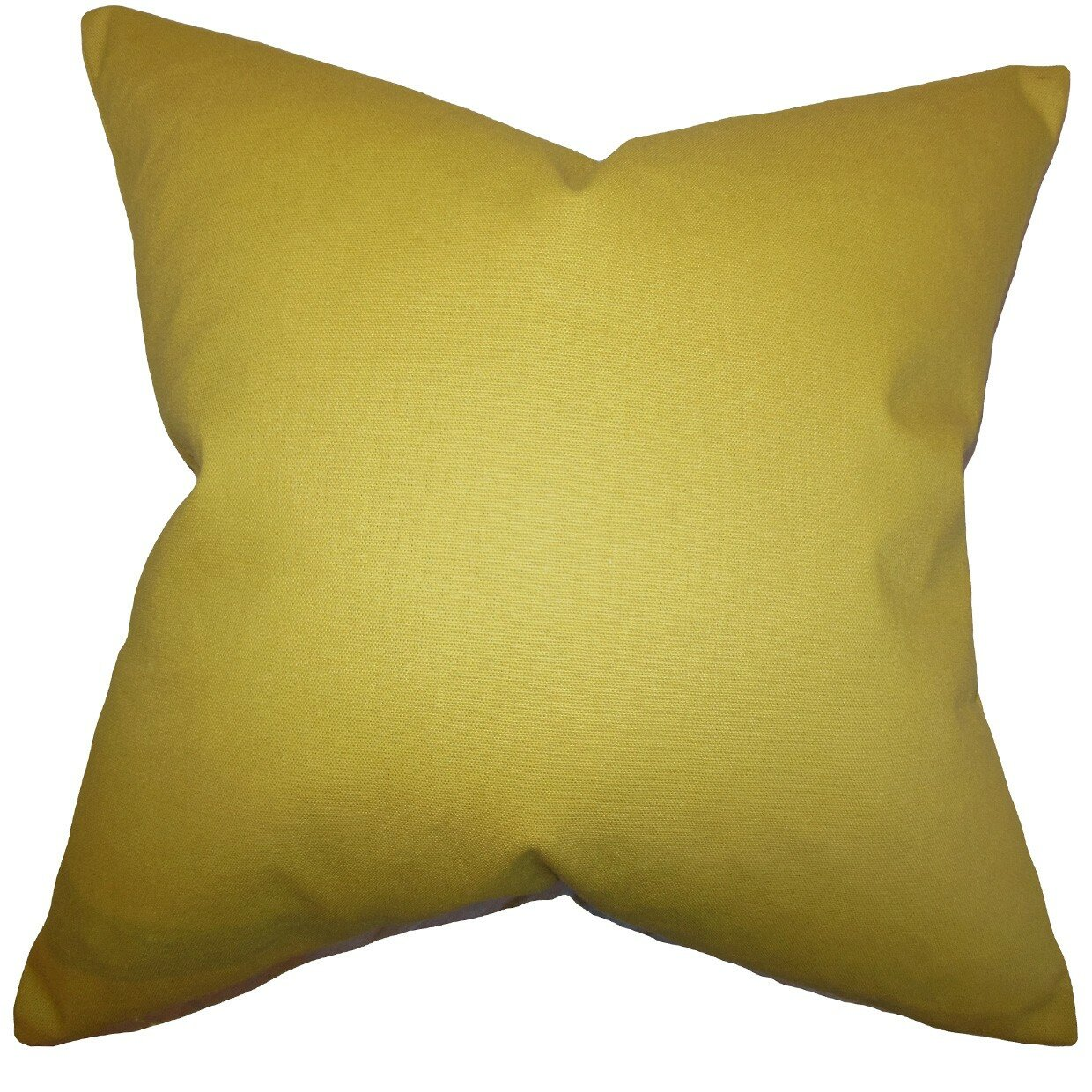 Throw Pillow Gallery : Varick Gallery Portsmouth Solid Cotton Throw Pillow & Reviews Wayfair