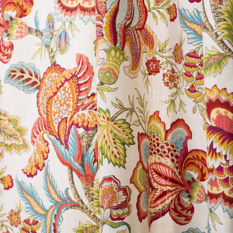 The Pillow Collection Jacobean Single Curtain Panel