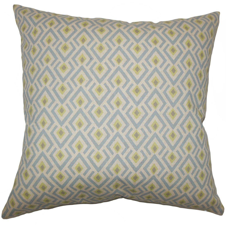 Throw Pillow Collections : The Pillow Collection Abhinav Geometric Cotton Throw Pillow Wayfair
