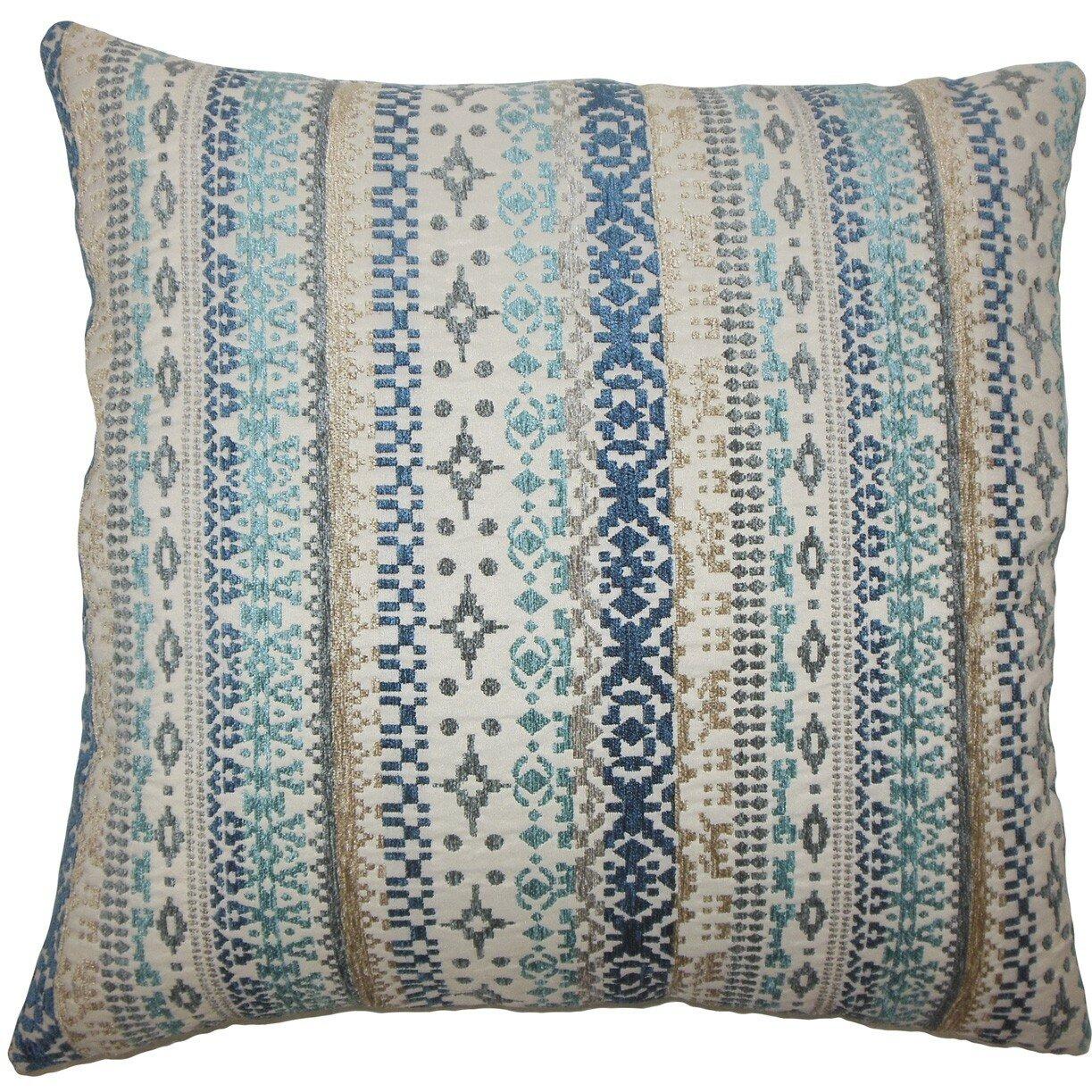 Throw Pillows Ikat : The Pillow Collection Valko Ikat Throw Pillow Wayfair