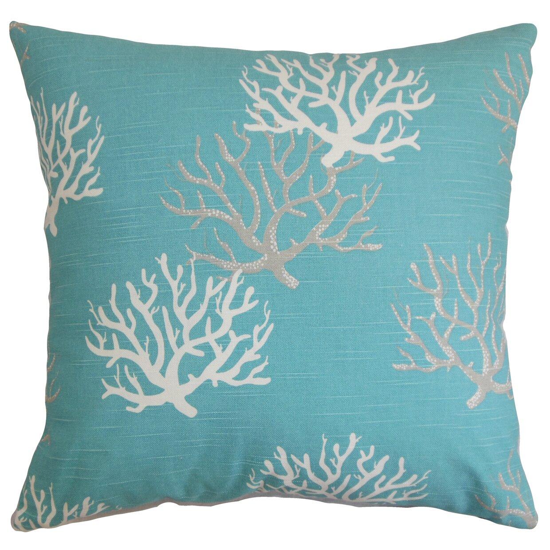 Coastal Decorative Pillow Covers : The Pillow Collection Hafwen Coastal Throw Pillow Cover & Reviews Wayfair