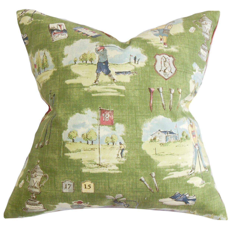 The Pillow Collection Alfreda Cotton Throw Pillow & Reviews Wayfair