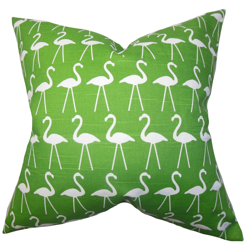Animal Print Throw Pillows And Blankets : The Pillow Collection Elili Animal Print Cotton Throw Pillow & Reviews Wayfair