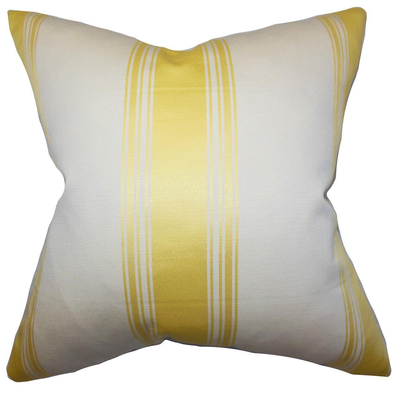 Throw Pillow Collections : The Pillow Collection Jaleesa Stripes Throw Pillow & Reviews Wayfair