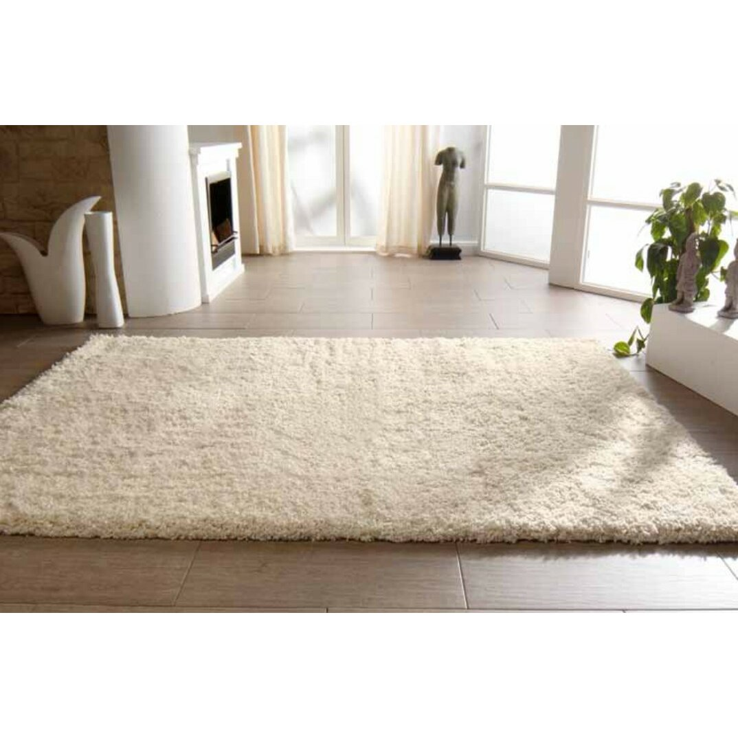 peyer syntex teppich shaggy uni in beige bewertungen. Black Bedroom Furniture Sets. Home Design Ideas