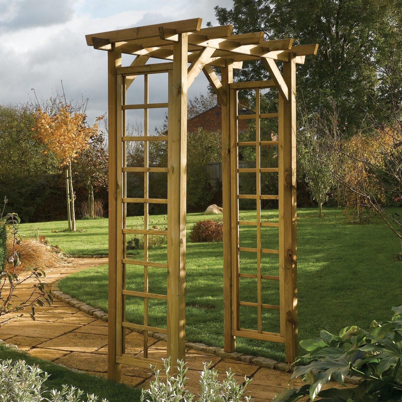 rowlinson rose arch reviews wayfair uk. Black Bedroom Furniture Sets. Home Design Ideas