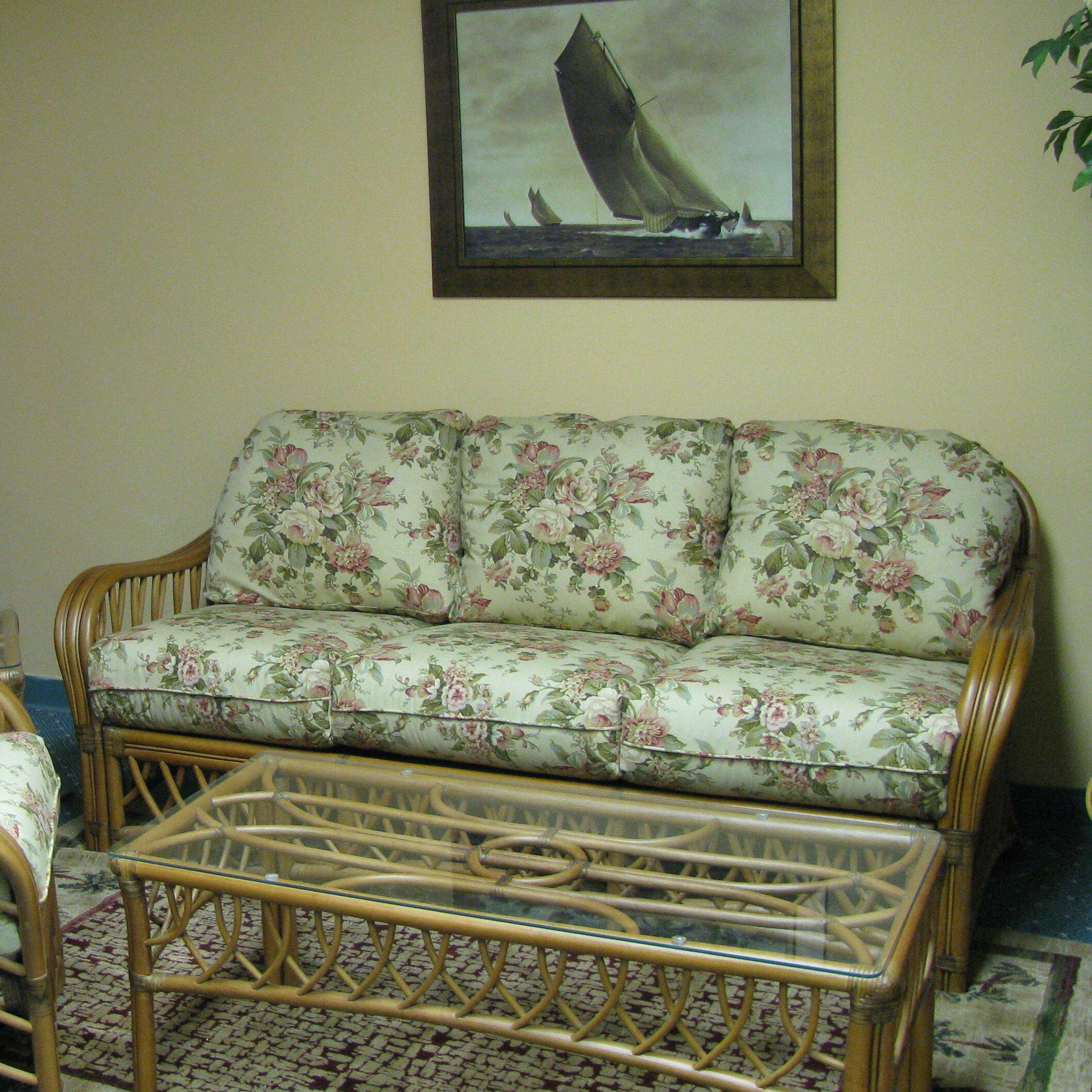 Spice islands montego bay 39 39 sofa reviews wayfair for Sofa bed jamaica
