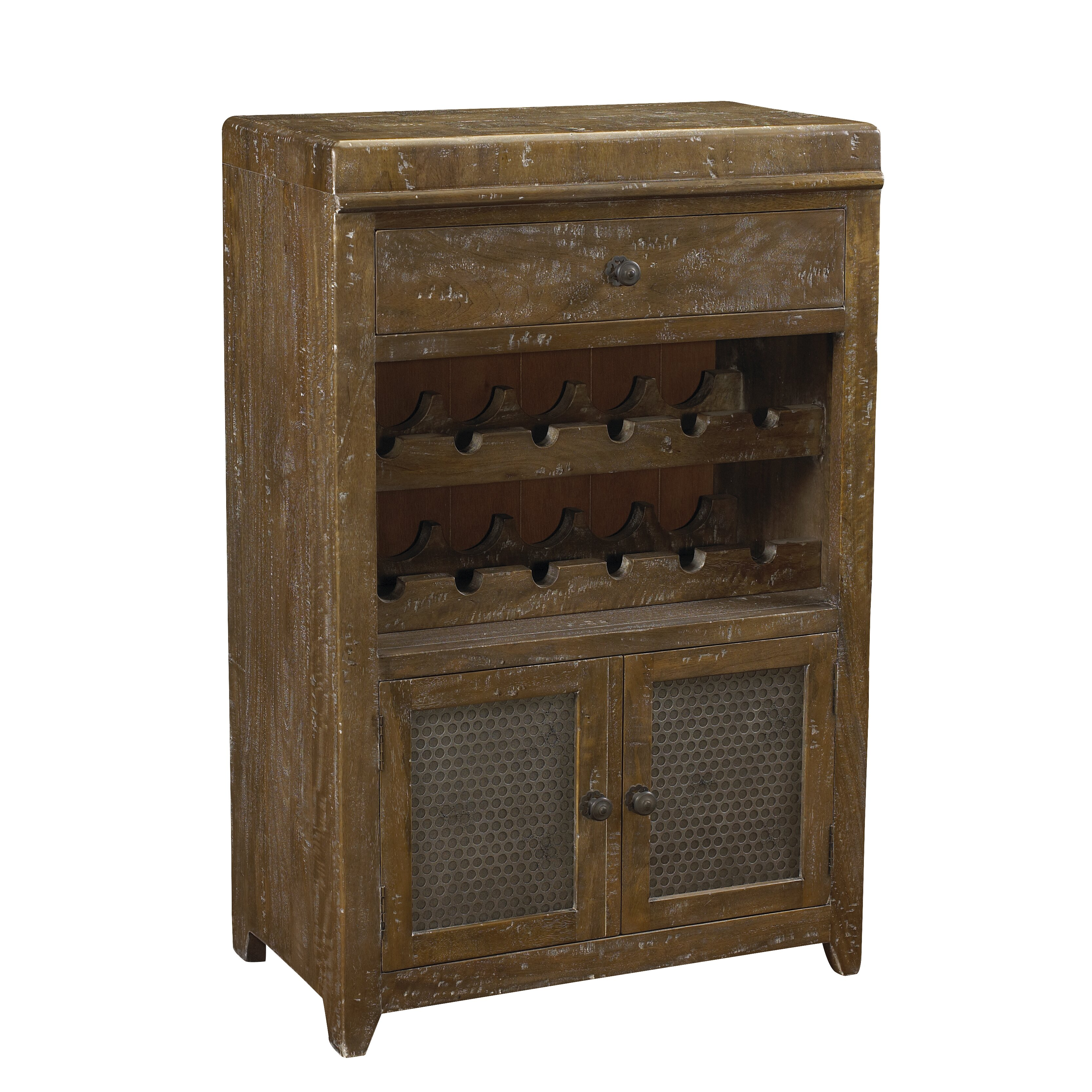 French heritage french accents 12 bottle floor wine for Floor wine cabinet