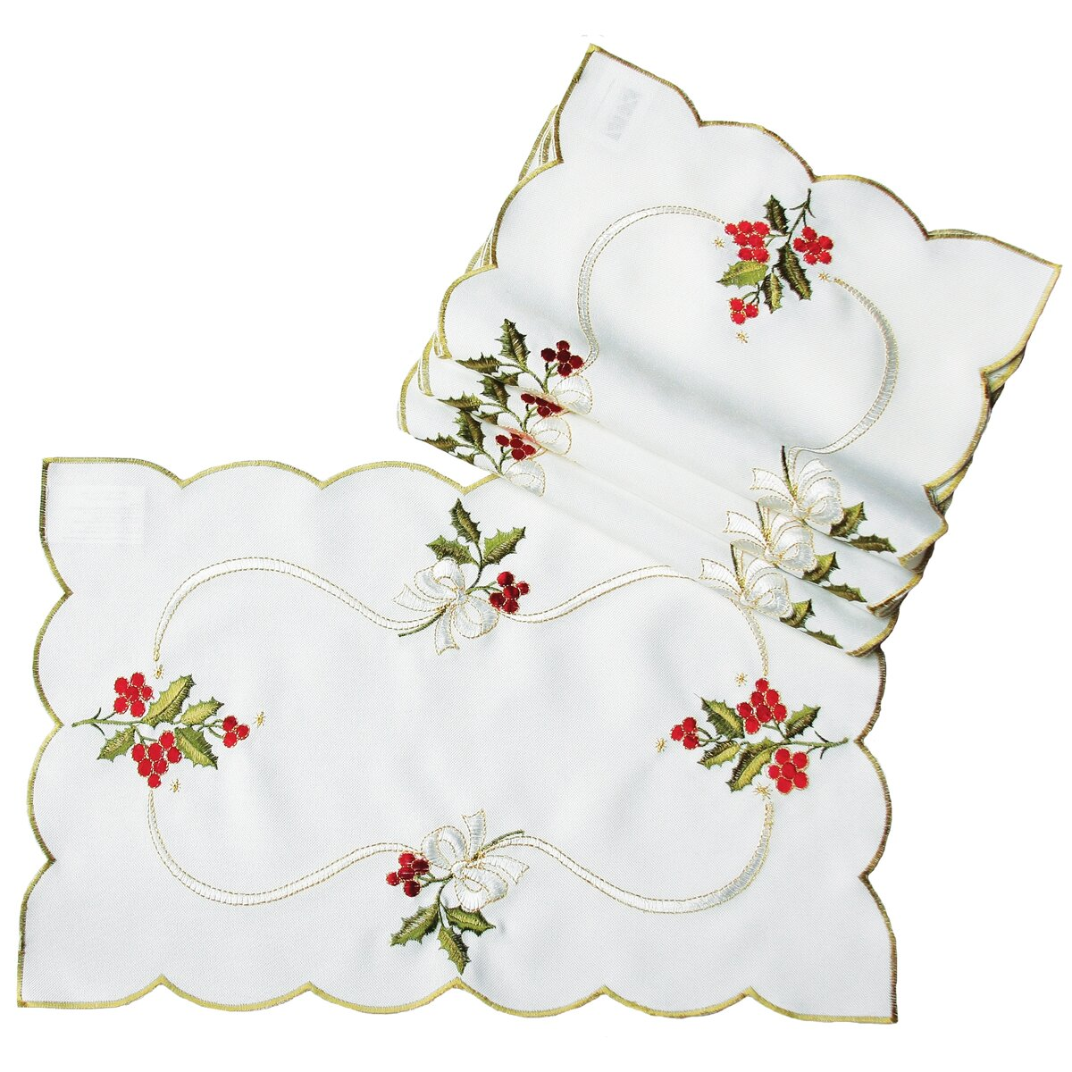 Xia Home Fashions Holly Berry Embroidered Placemat Wayfair : Xia Home Fashions Holly Berry Embroidered Placemat XD134011218 from www.wayfair.com size 1200 x 1200 jpeg 319kB