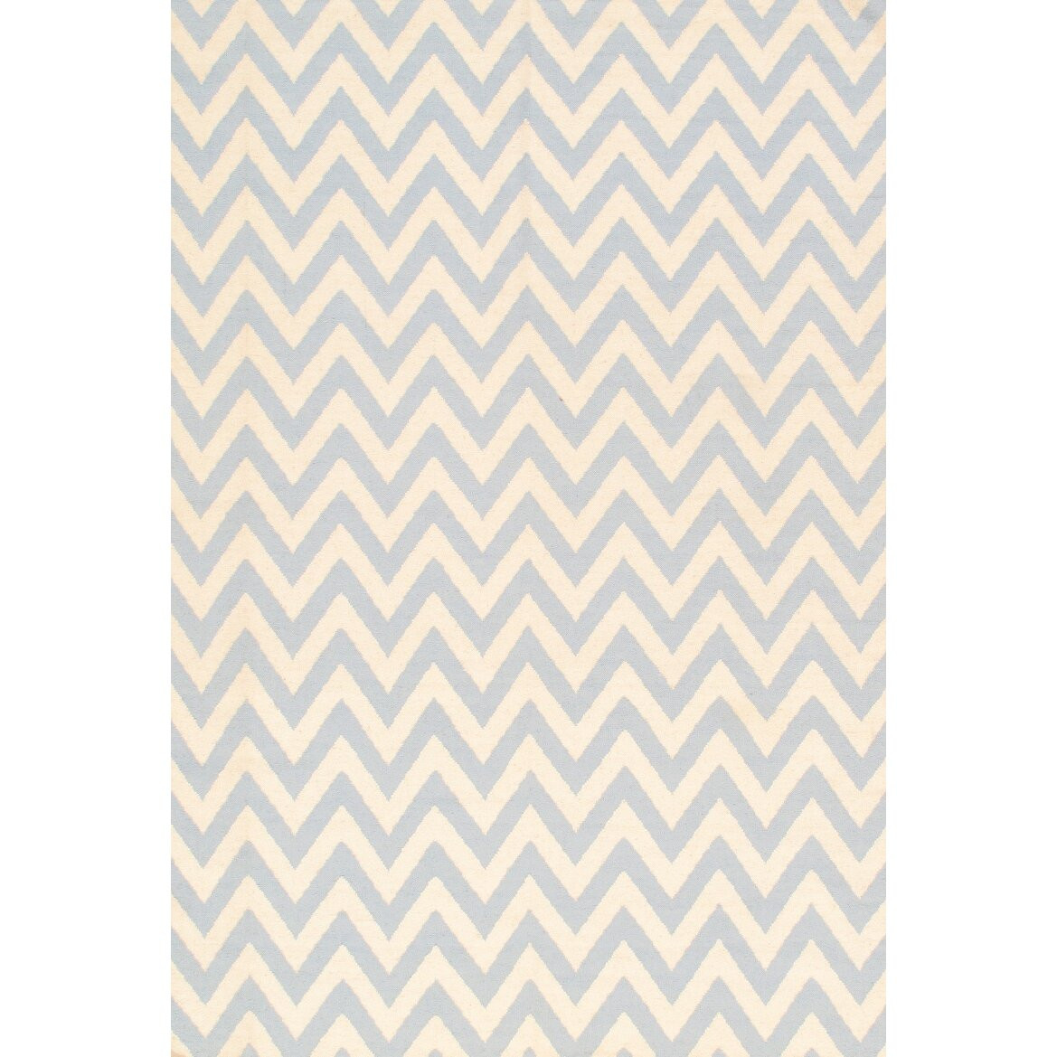 Pasargad kilim hand knotted ivory light blue area rug for Dining room rugs 9x12