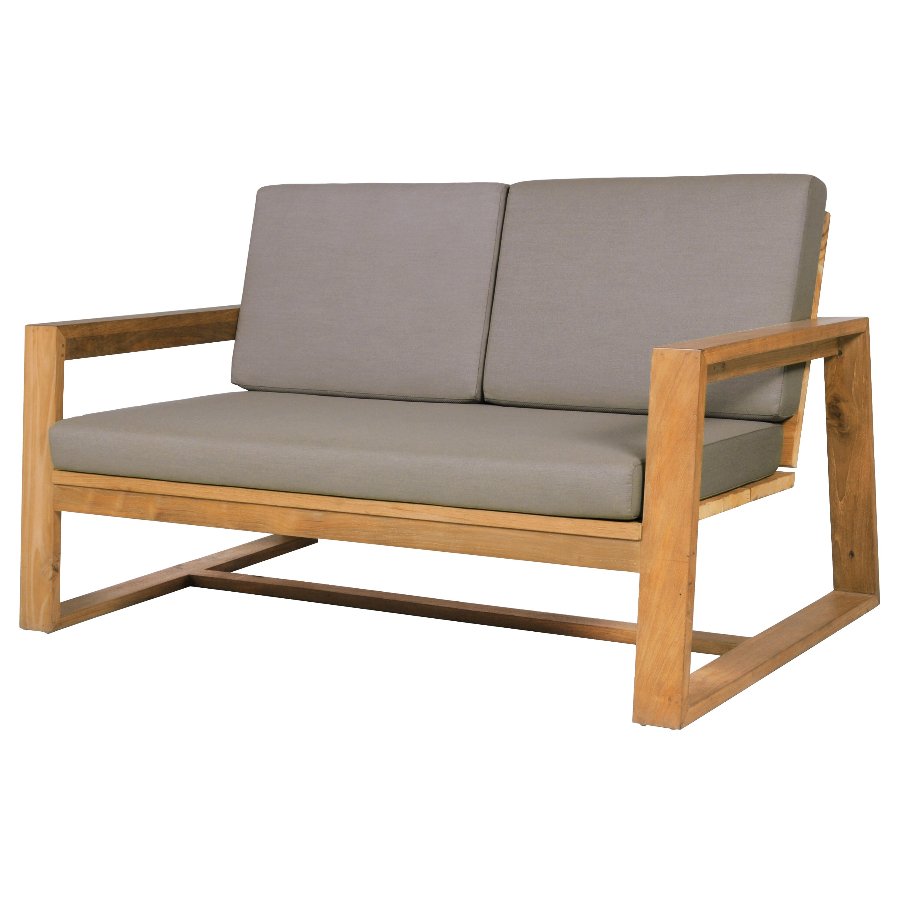 Mamagreen Avalon 2 Seater Lounge With Cushion Wayfair