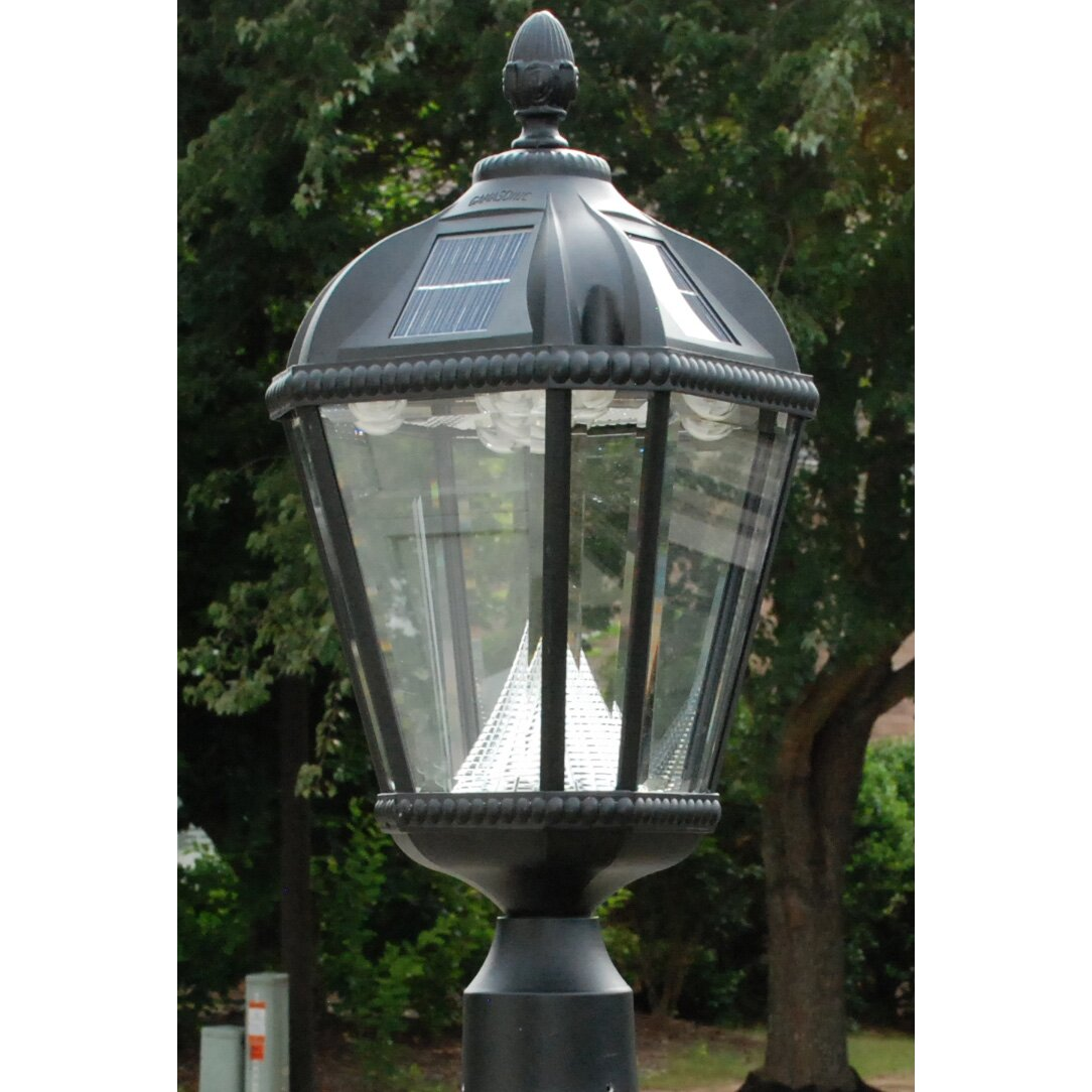 Light Pole Led Fixtures: Gama Sonic Royal Post Light & Reviews