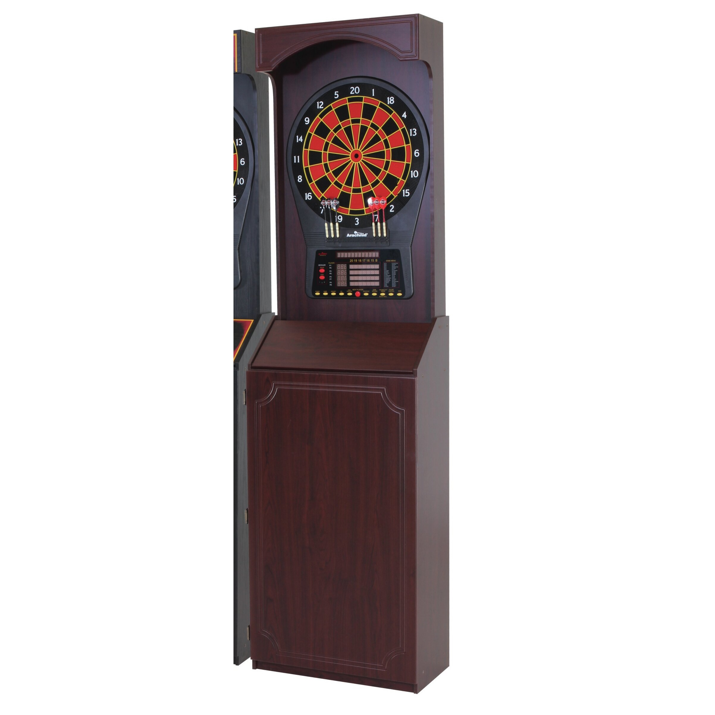 escalade sports cricket pro 800 electronic dartboard with arcade style cabinet reviews