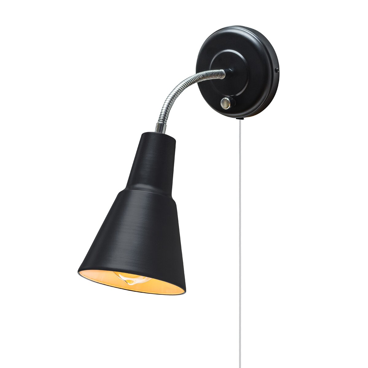 Wall Light Electric Kit : Globe Electric Company Adison 1 Light Plug In Task Wall Sconce with Hardwire Conversion Kit ...