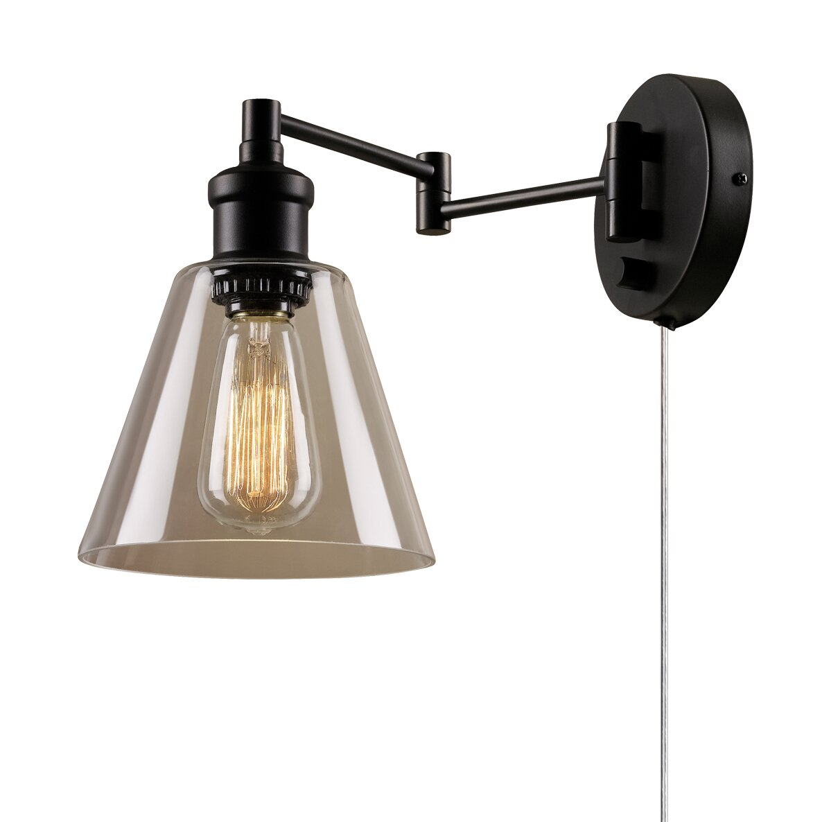 Wall Sconce Electric Box : Globe Electric Company LeClair 1-Light Wall Sconce & Reviews Wayfair