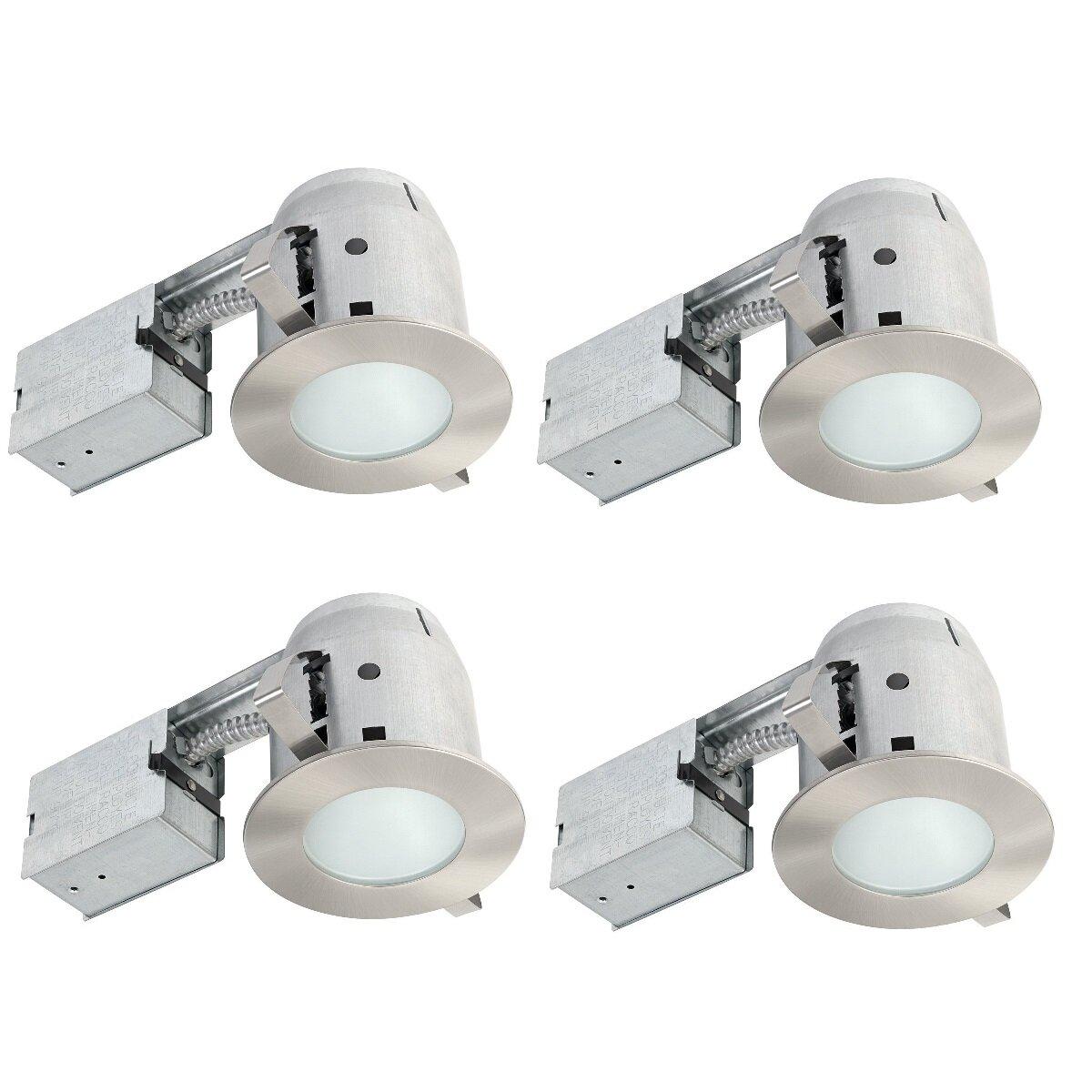 "Globe Electric Company IC Rated Bathroom Lighting 4"" LED ..."