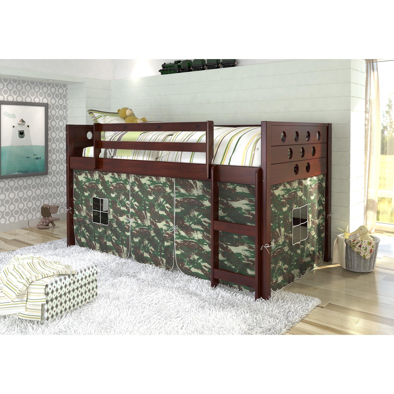 Donco Kids Circles Twin Loft Bed & Reviews