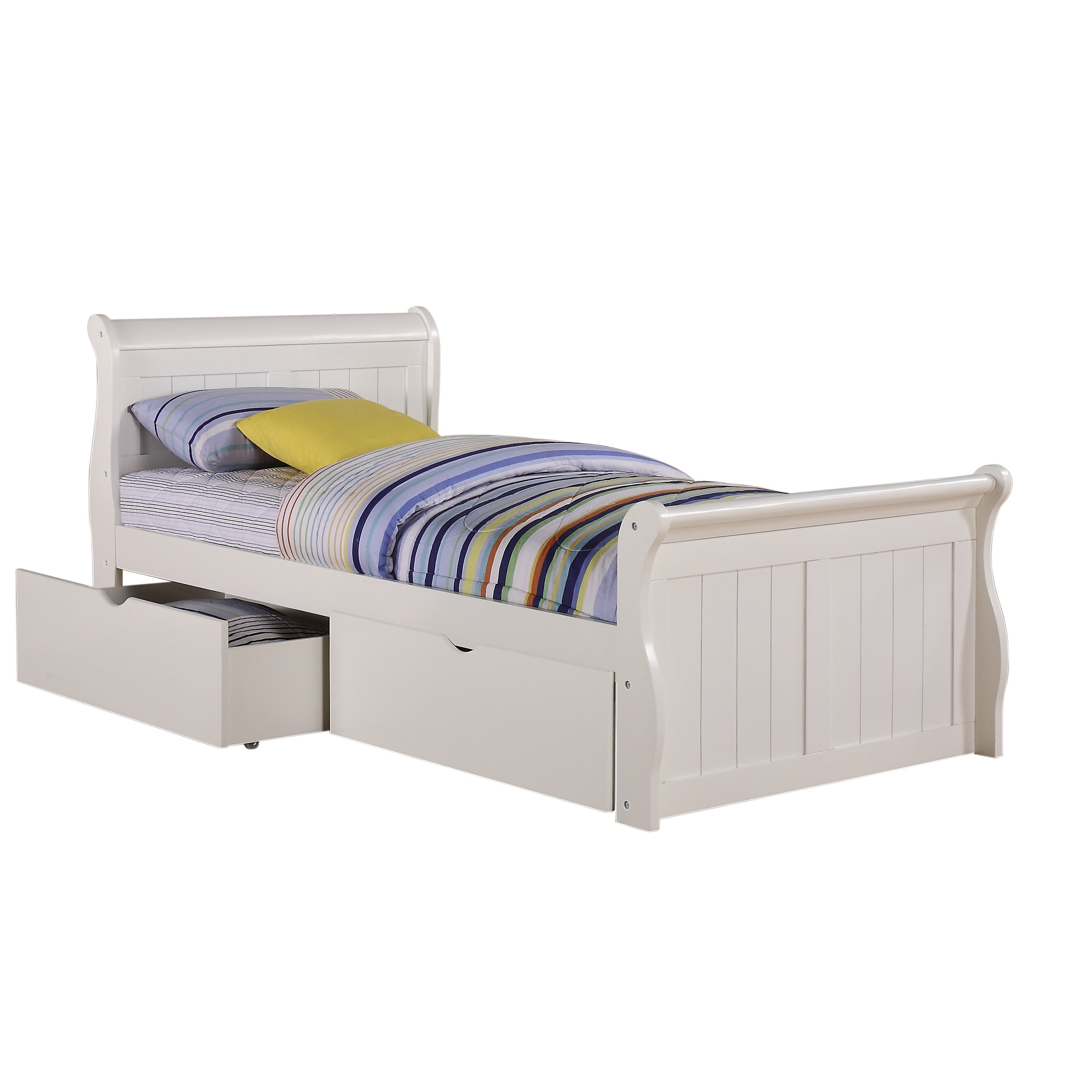 Donco Kids Twin Sleigh Bed