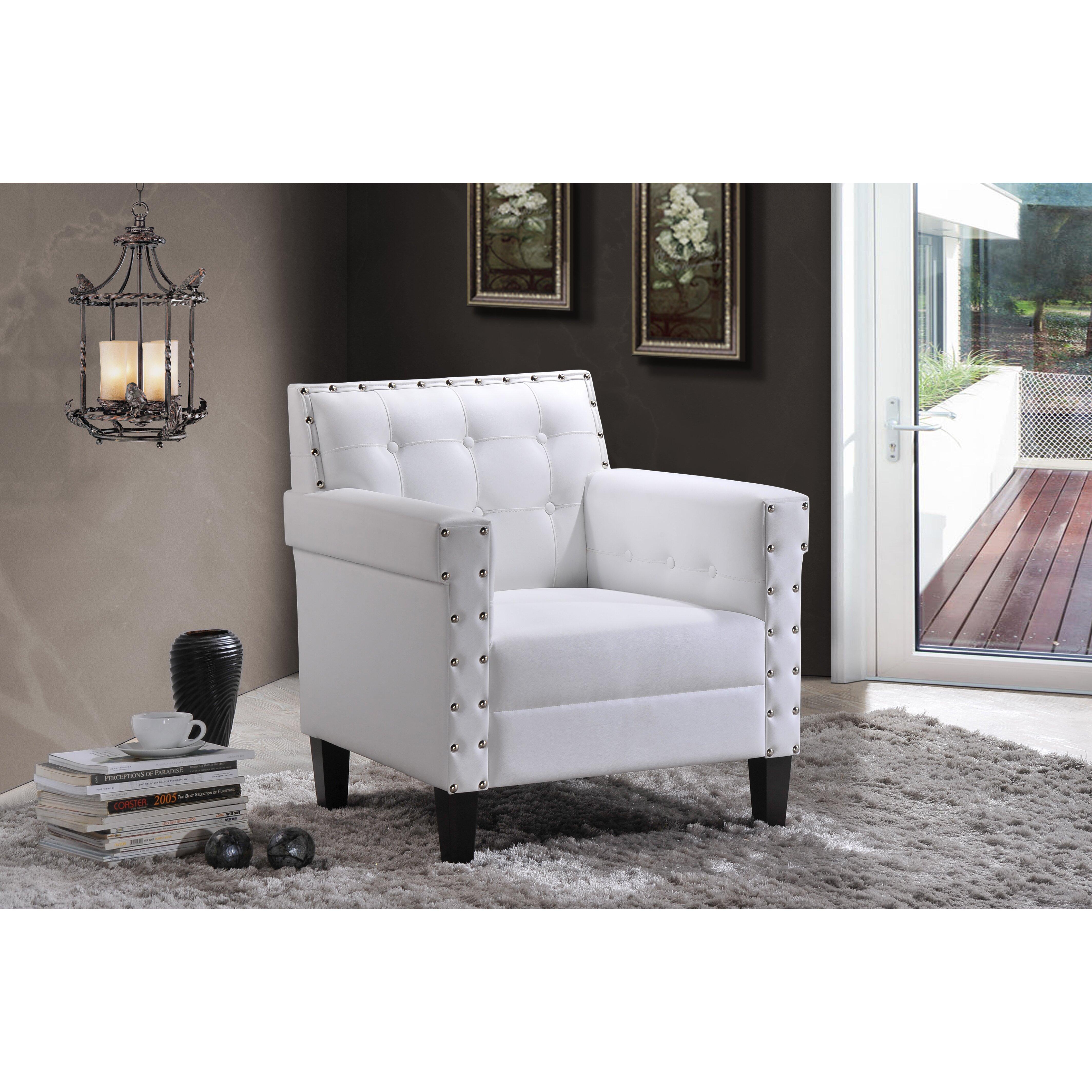 Wholesale interiors baxton studio odella club chair for Baxton studio