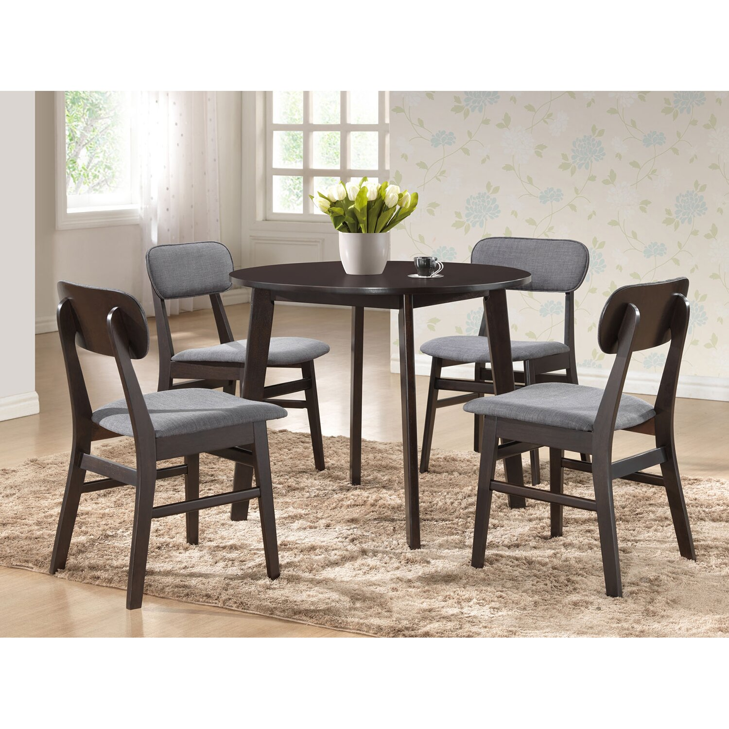Wholesale Interiors Baxton Studio Debbie Dining Table