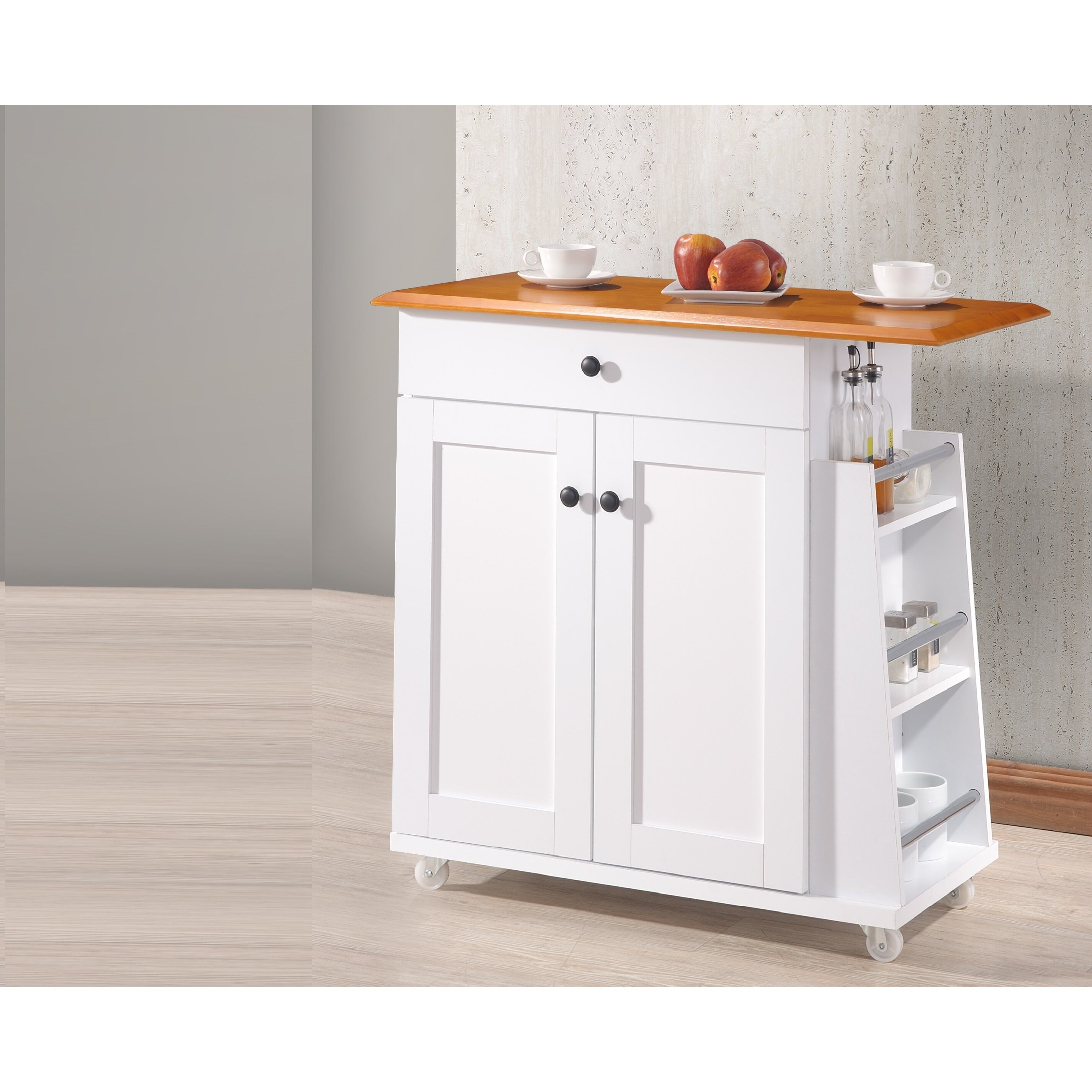Wholesale Interiors Baxton Studio Kitchen Cart & Reviews