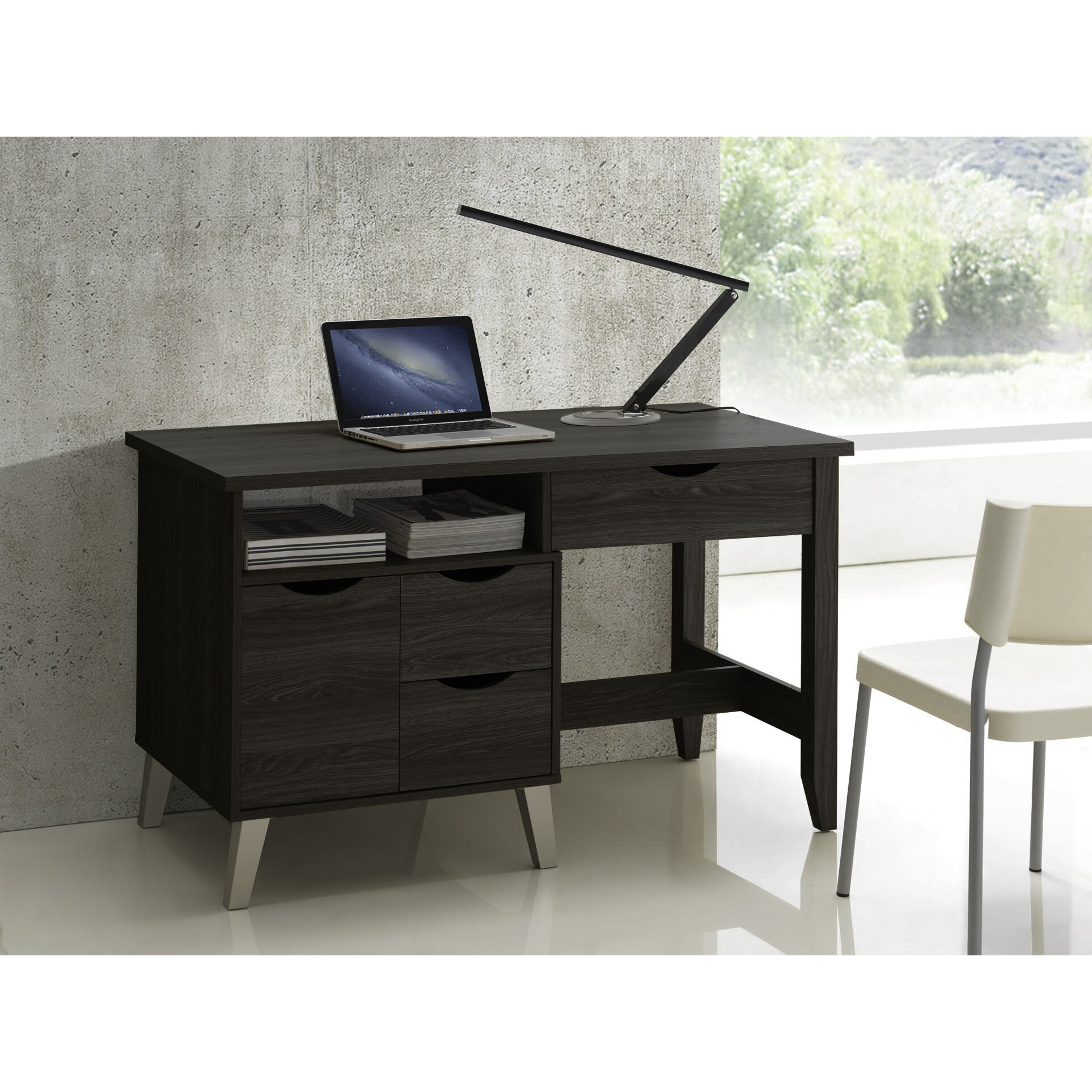 Wholesale Interiors Baxton Studio Home Office 3 Drawer