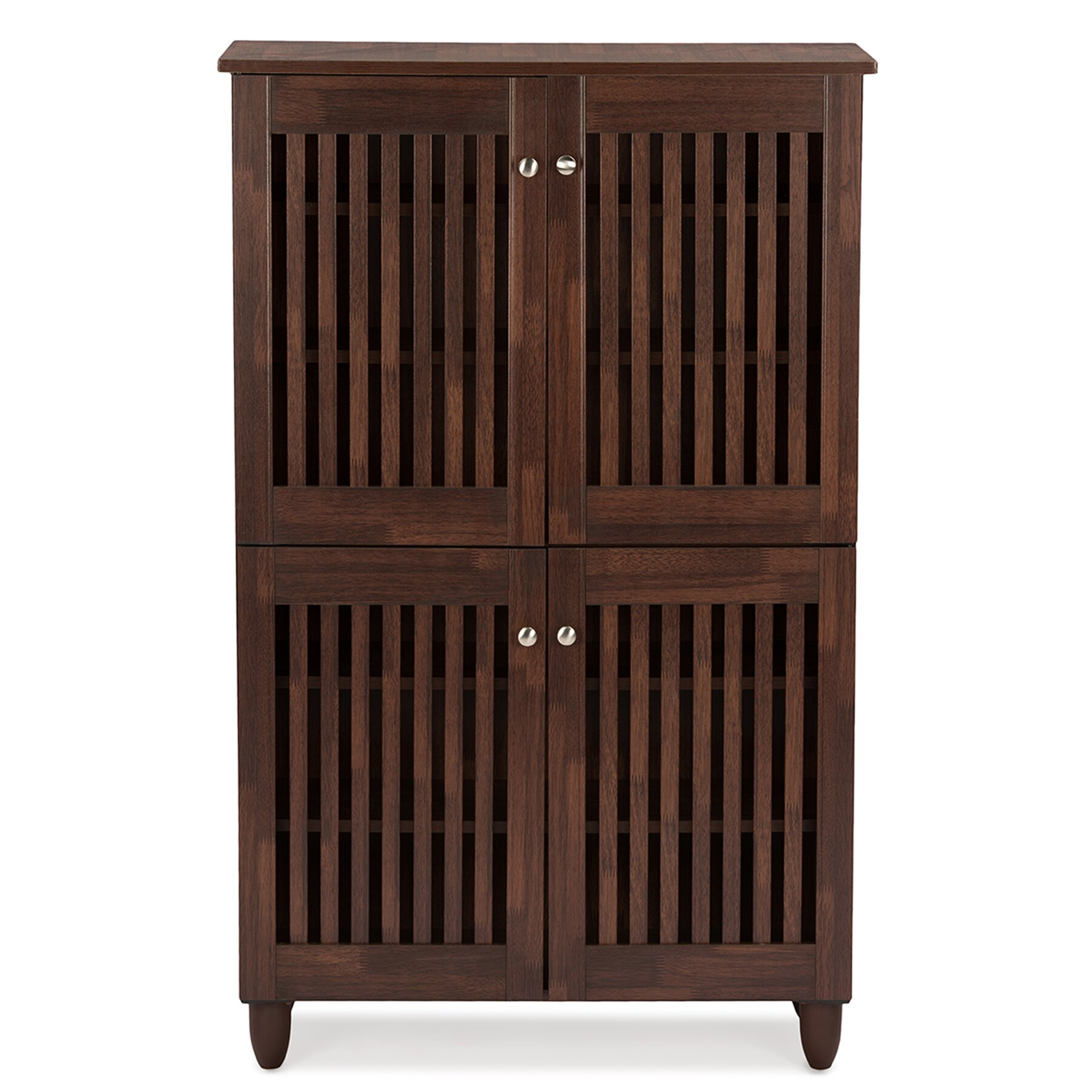 studio fernanda 18 pair shoe storage cabinet by wholesale interiors