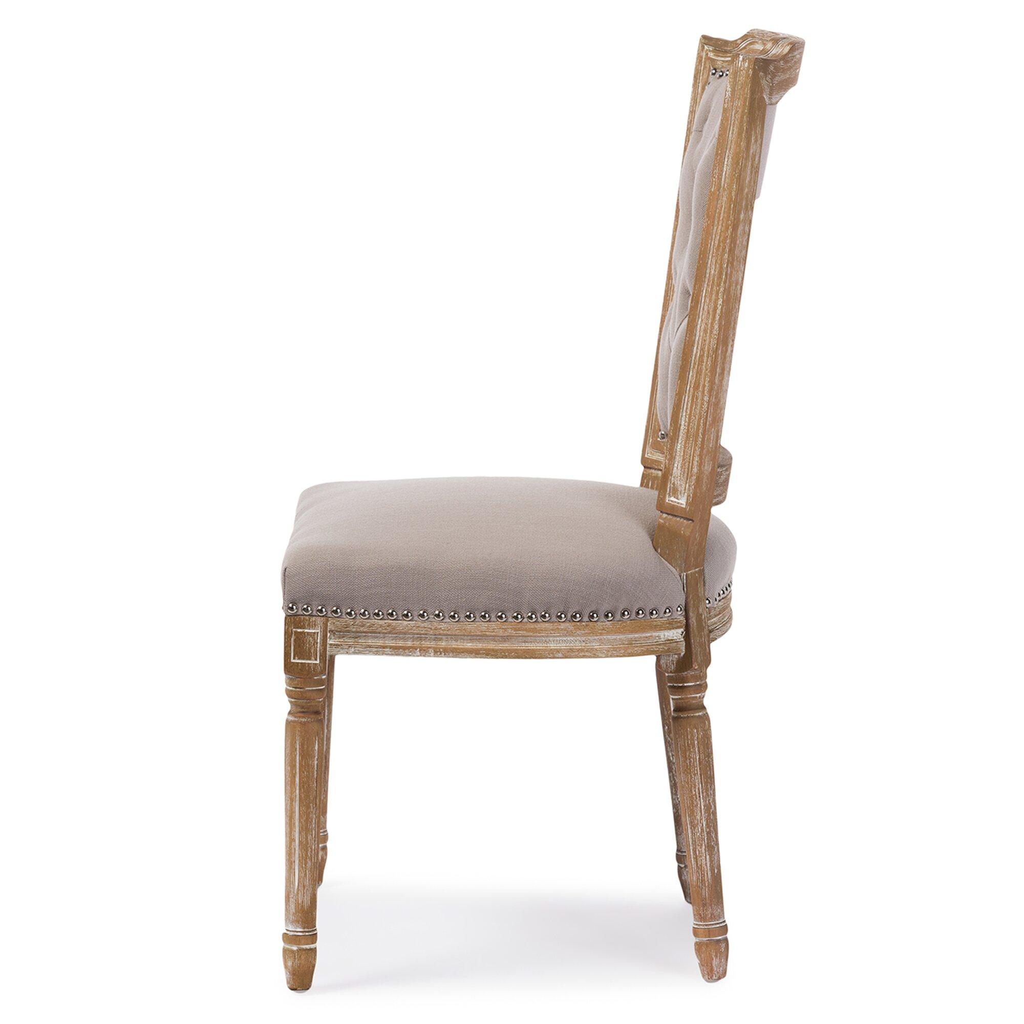 Wholesale Interiors Baxton Studio Side Chair Amp Reviews