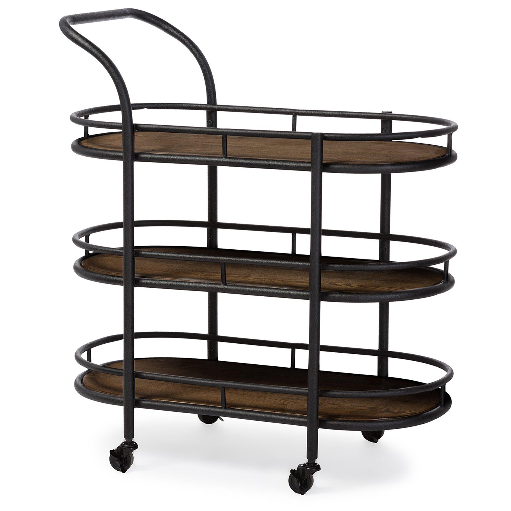 Wholesale Dining Room Sets Wholesale Interiors Baxton Studio Karlin Serving Cart