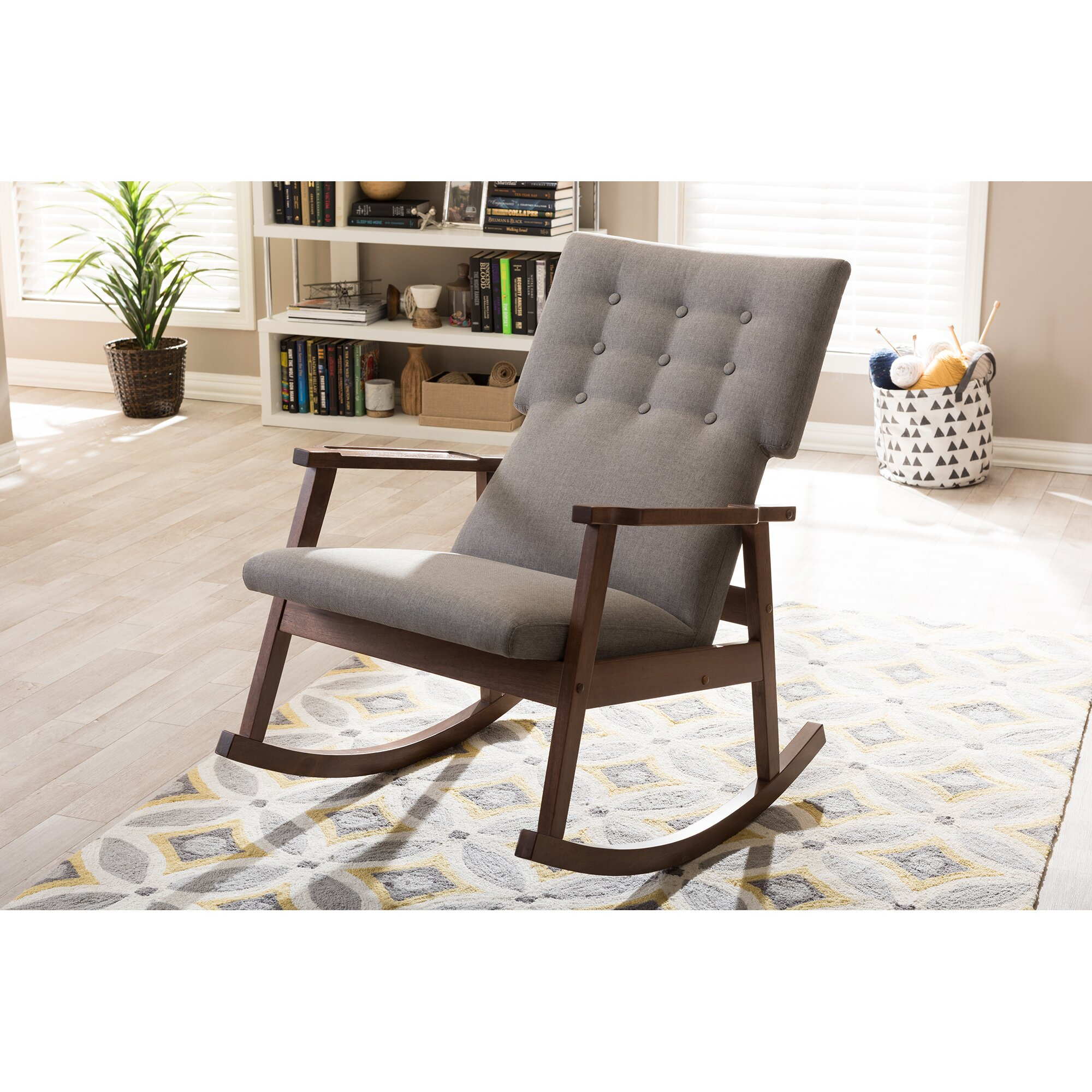 Wholesale interiors baxton studio rocking chair reviews for Baxton studio