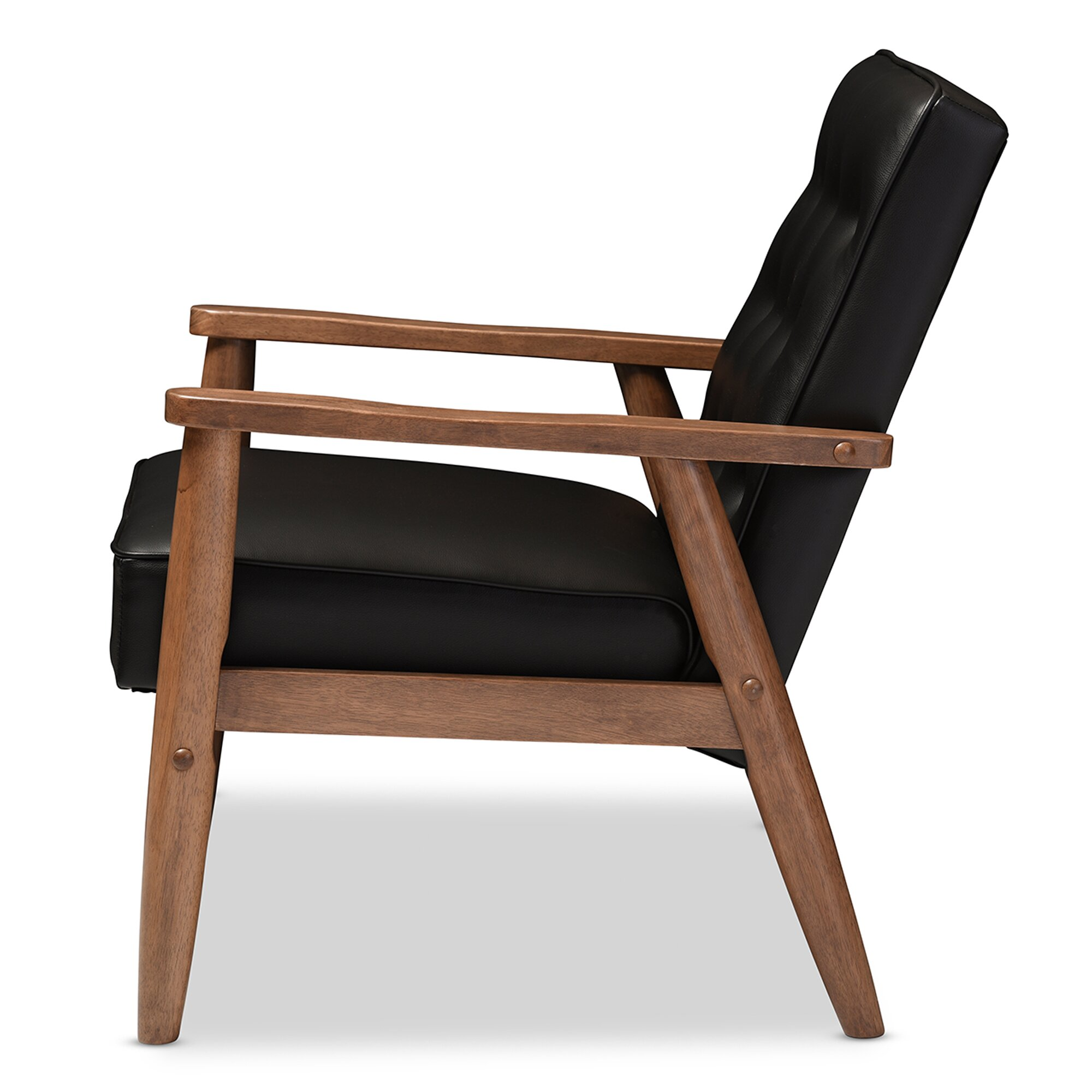 Wholesale Interiors Baxton Studio Lounge Chair & Reviews